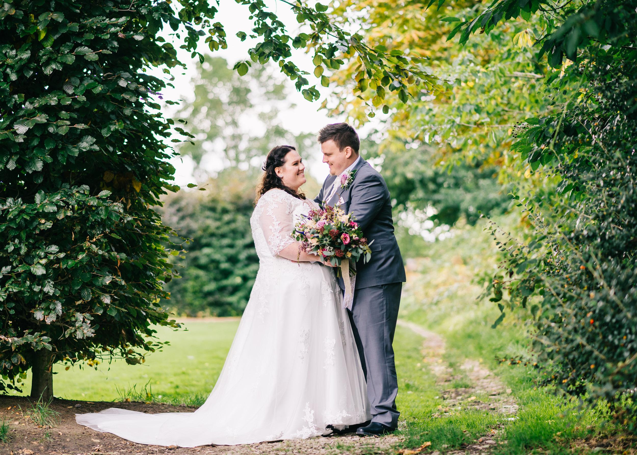 Wild flower & woodland theme wedding in manchester23