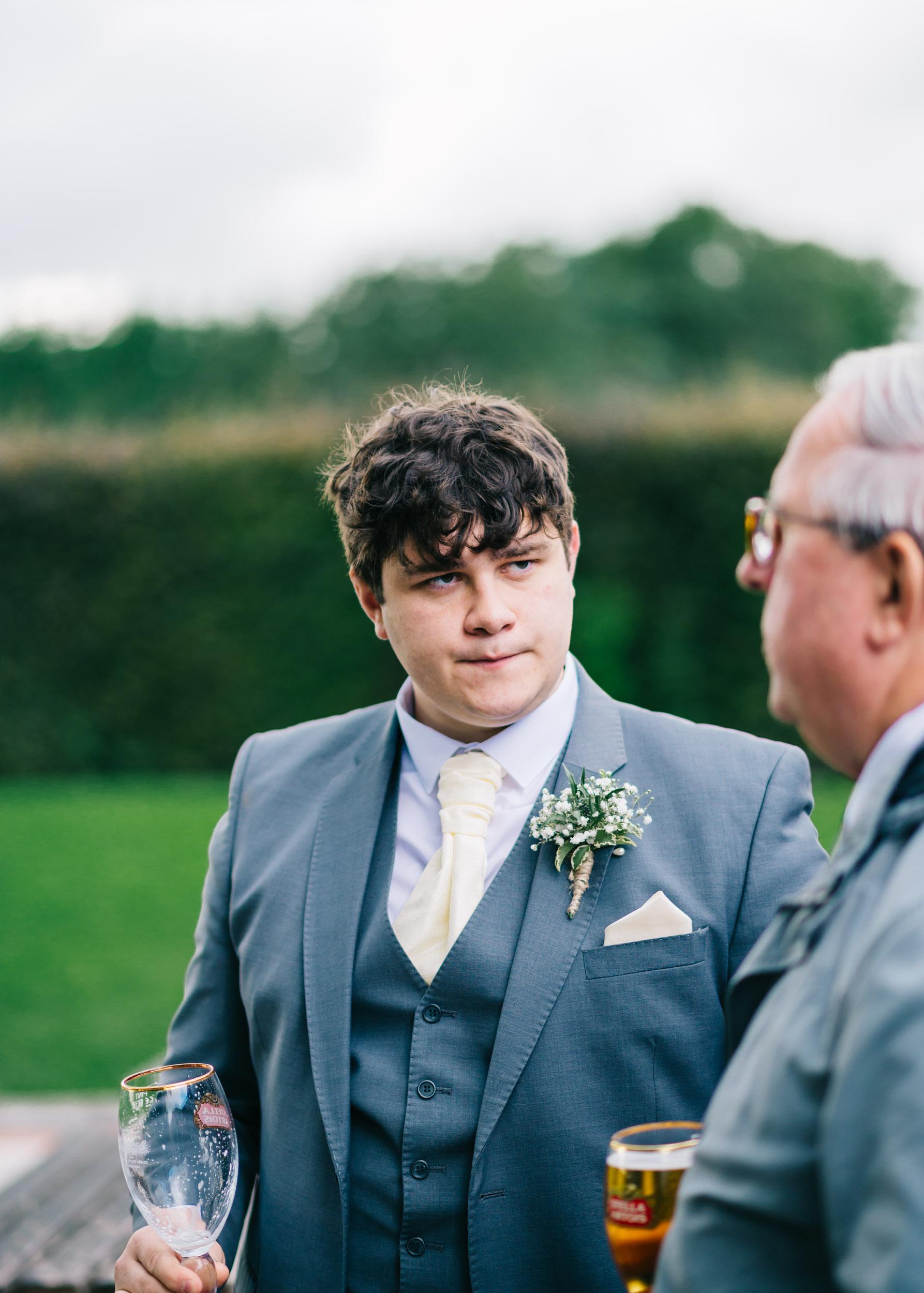 Wild flower & woodland theme wedding in manchester32