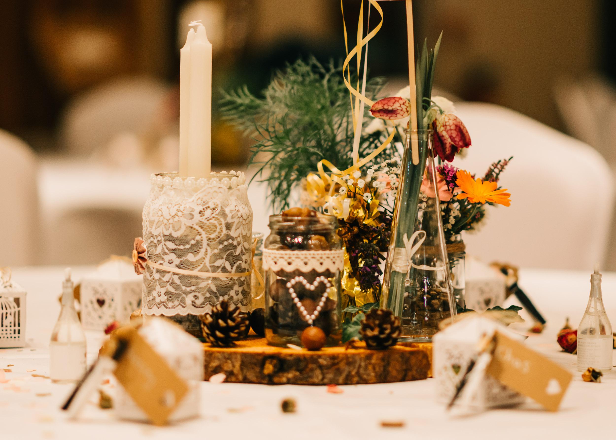 Wild flower & woodland theme wedding in manchester34