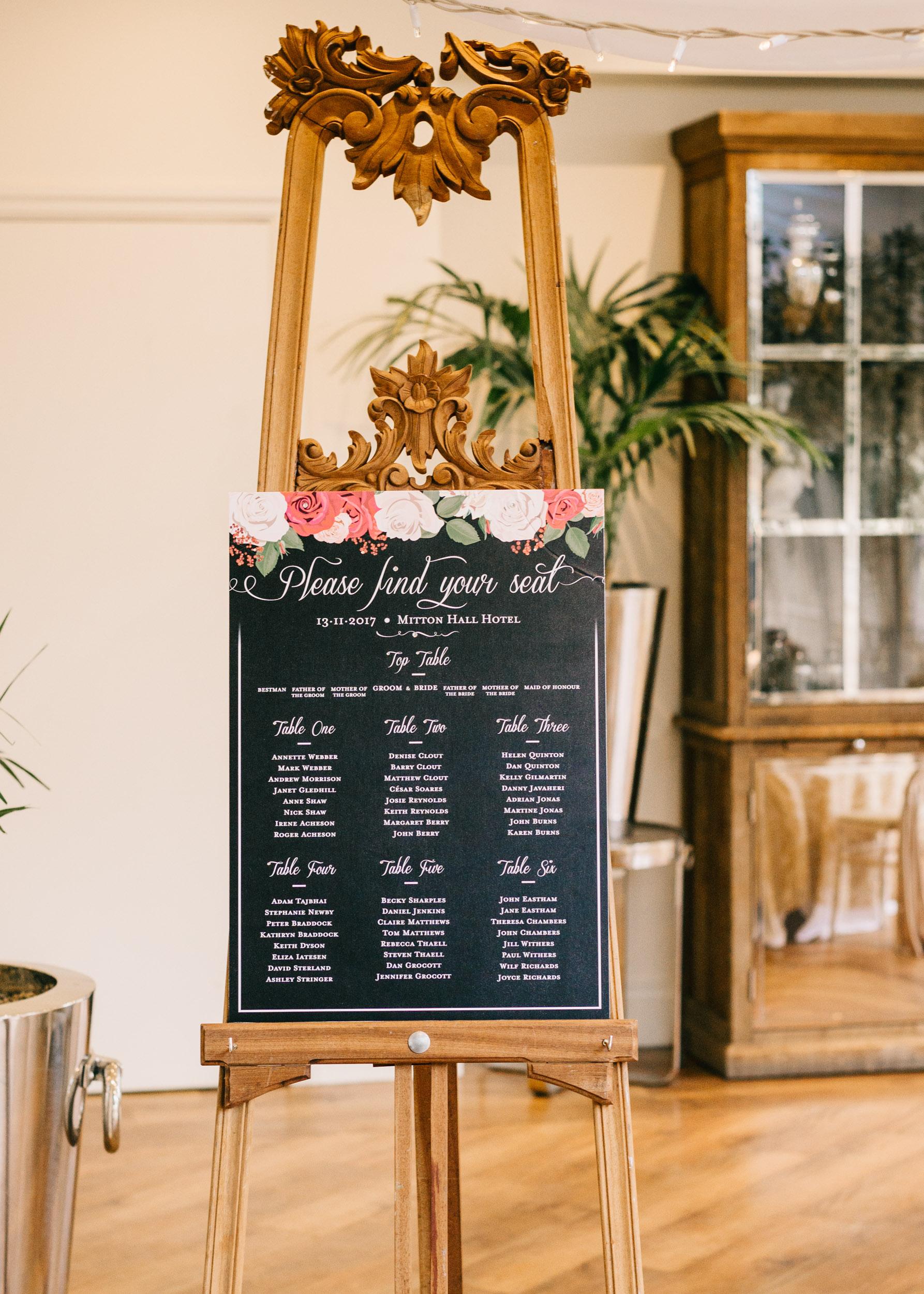Mitton Hall, Wedding Venue Lancashire, Styled Wedding Workshop21