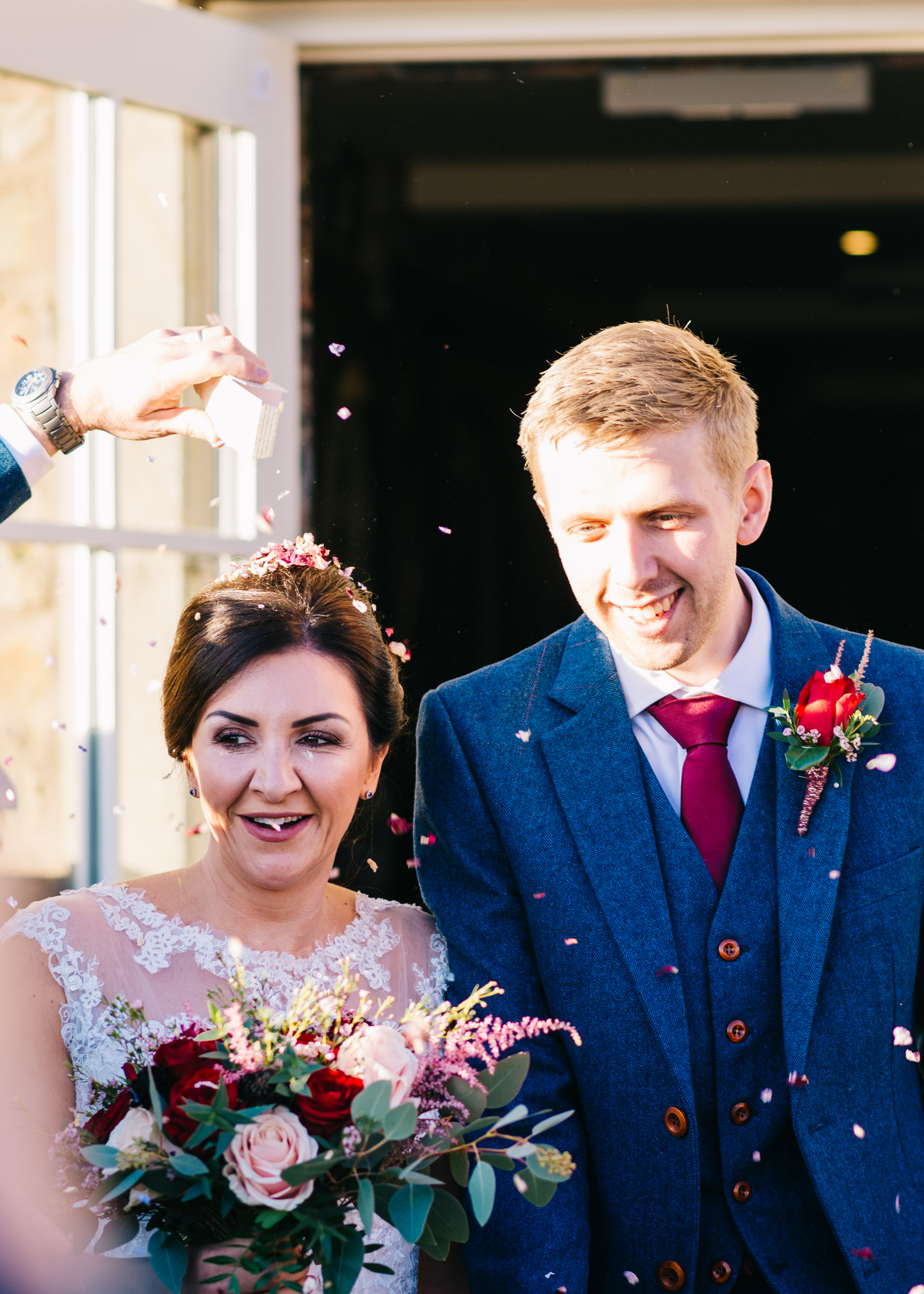 Shireburn Arms Wedding Hurst Green, Ribble Valley, Lancashire19