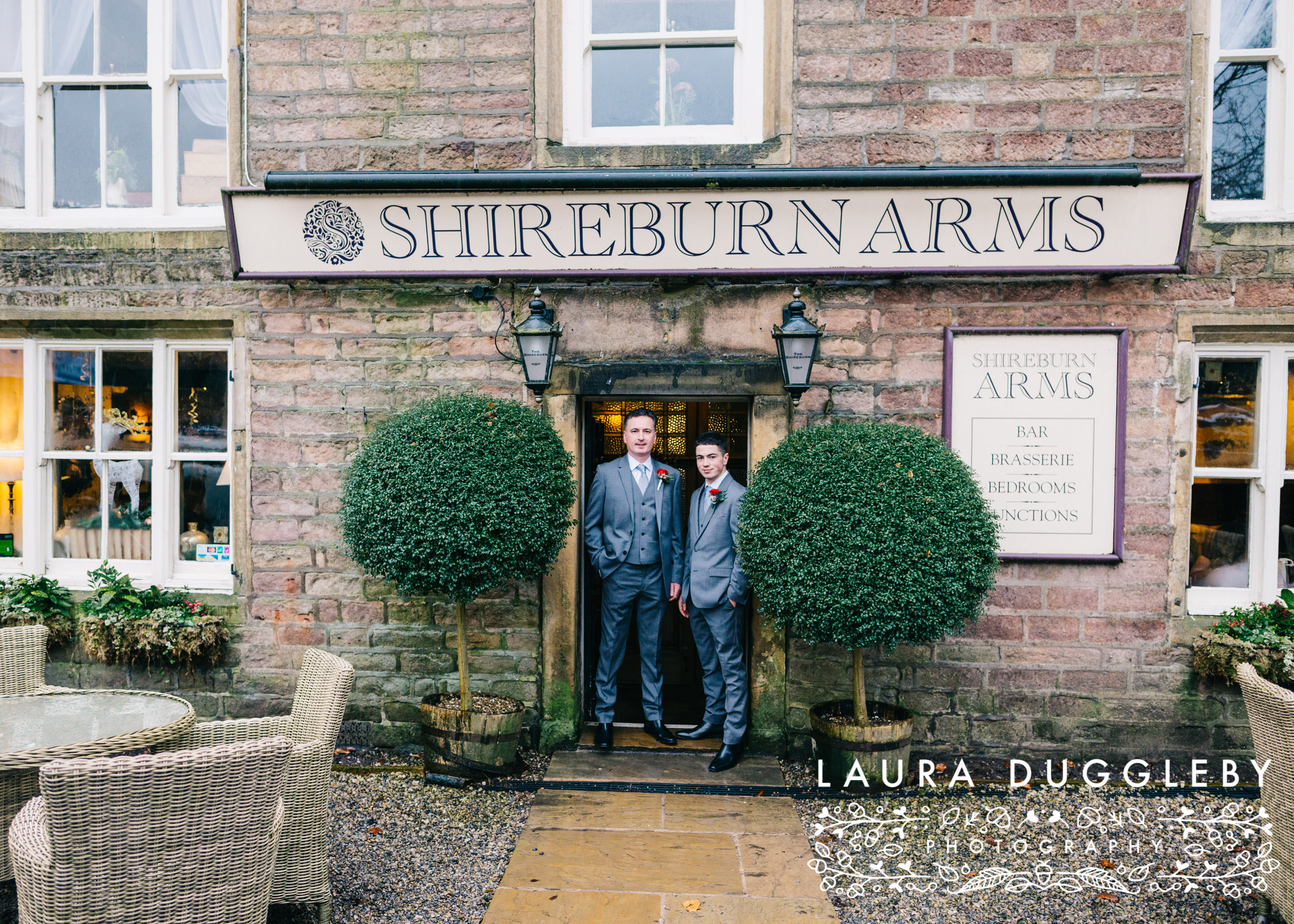 Winter Wedding Shireburn Arms Ribble Valley25