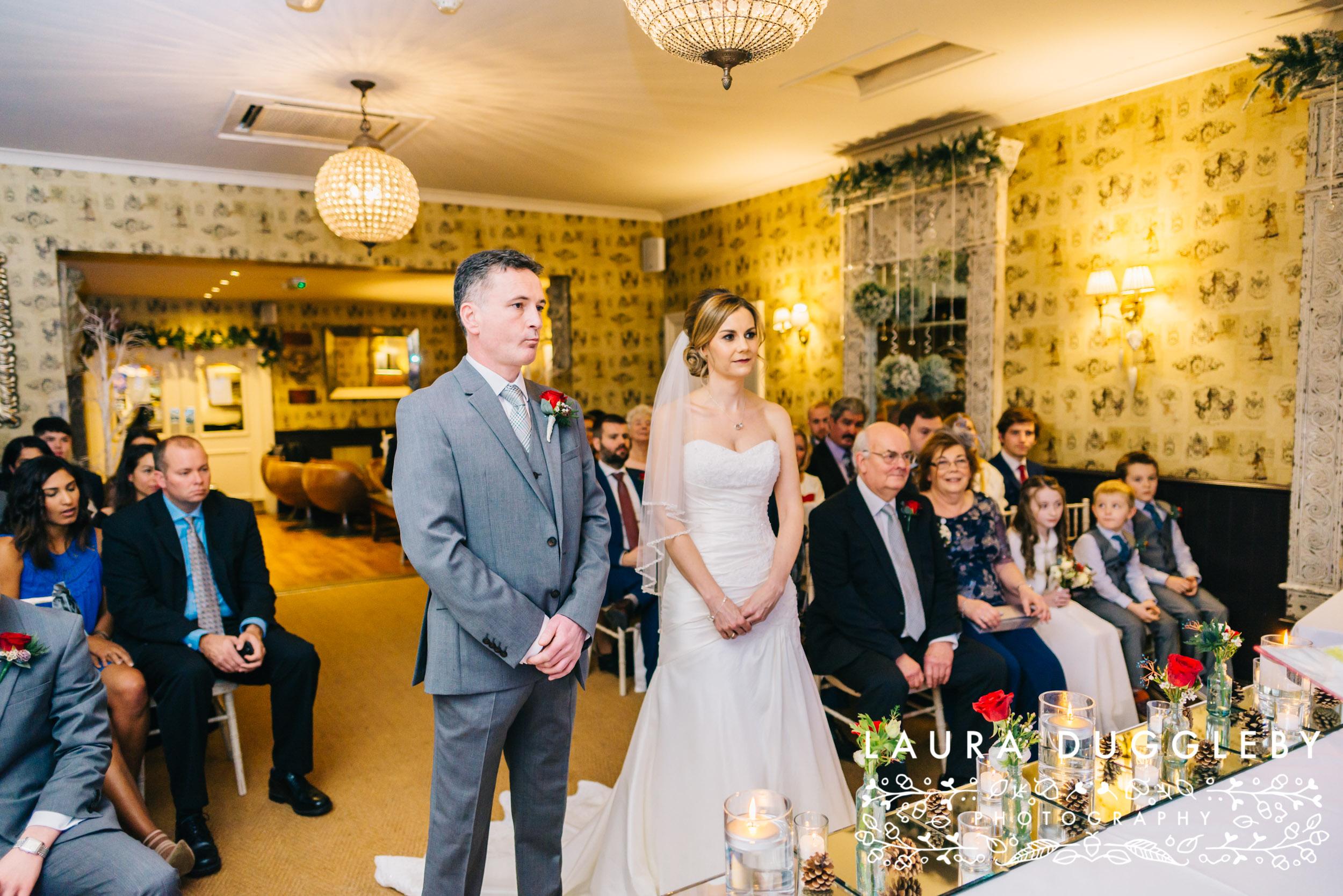 Wedding Ceremony At Shireburn Arms