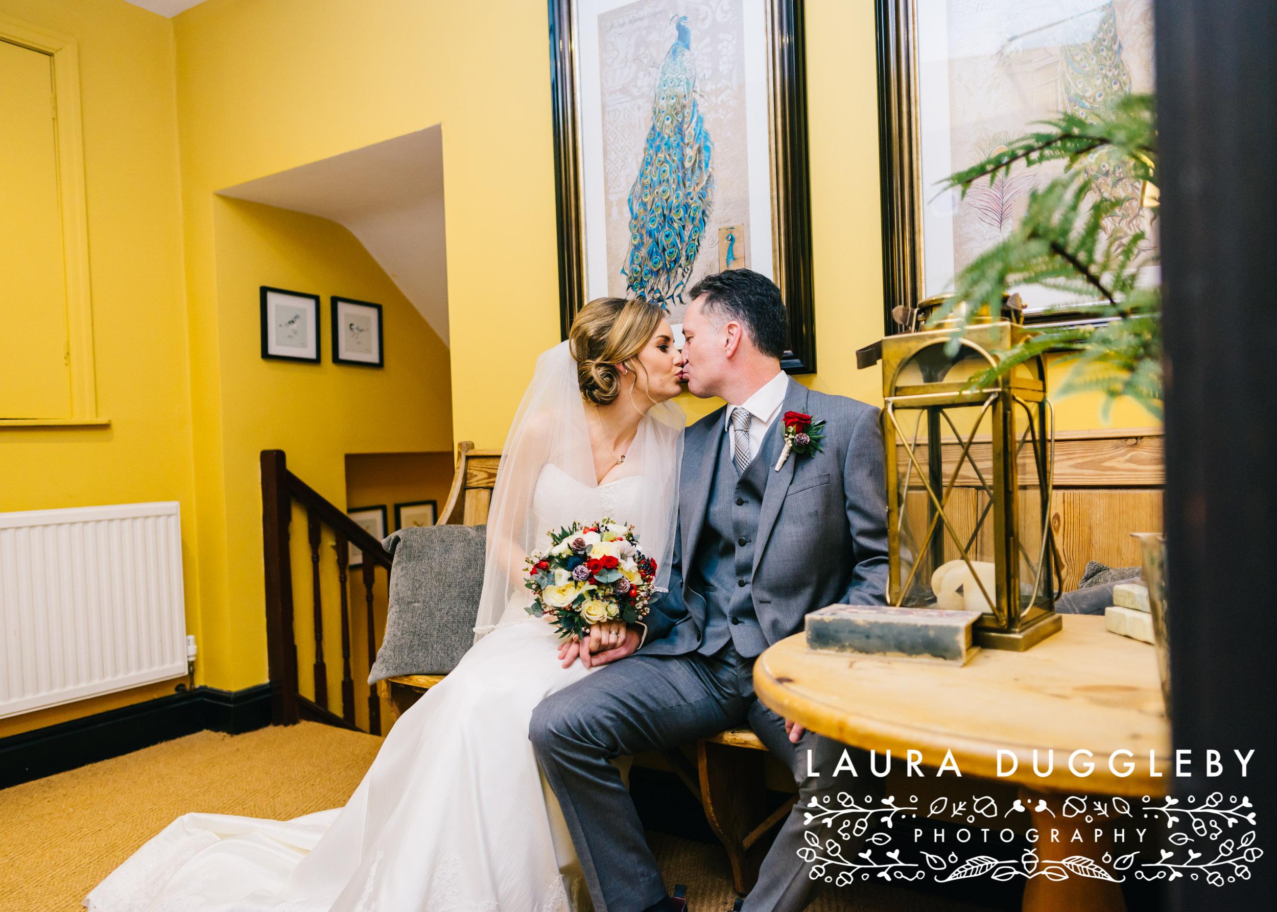 shireburn arms winter wedding ribble valley26