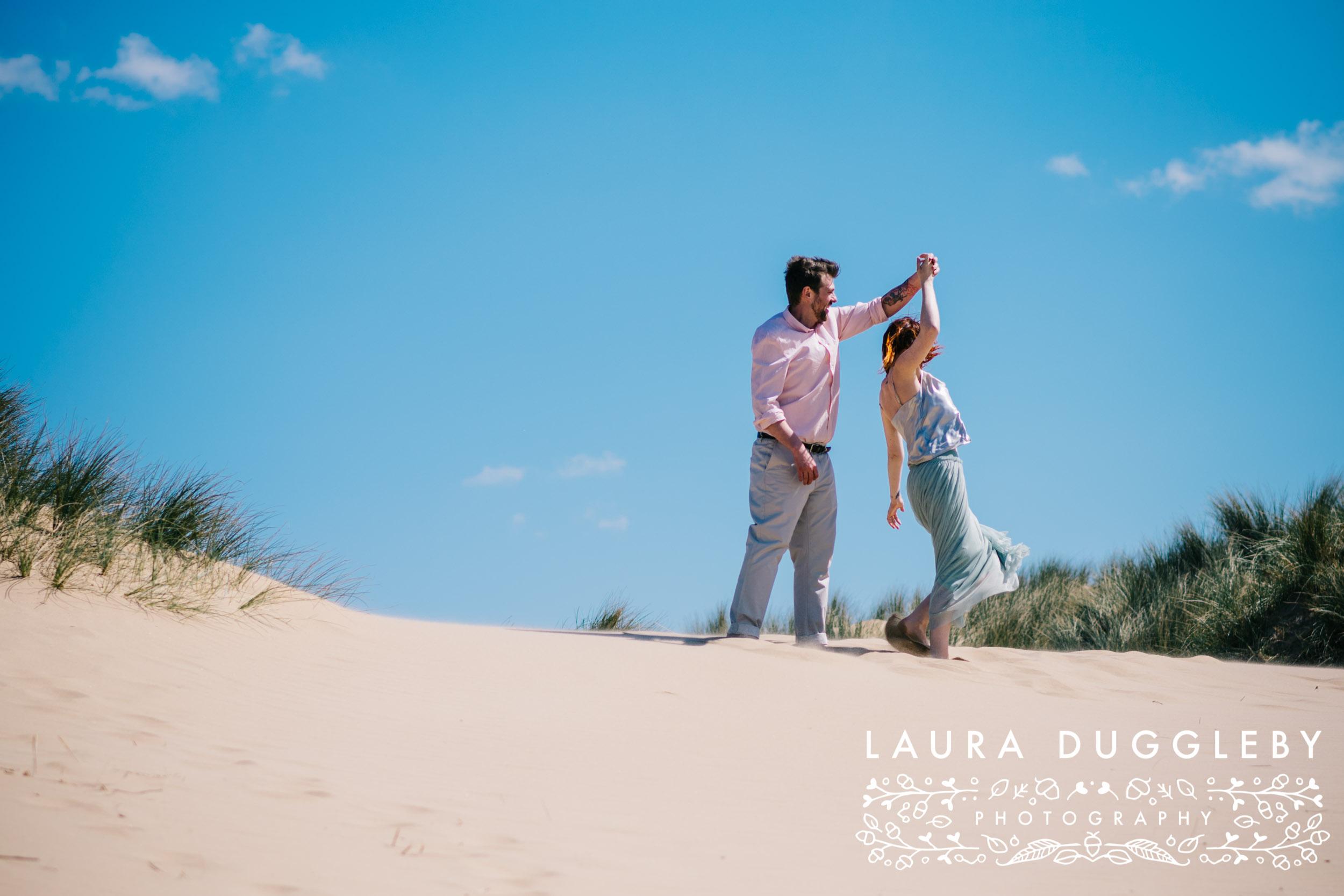 Formby Beach Lancashire Engagement Shoot-6.jpg