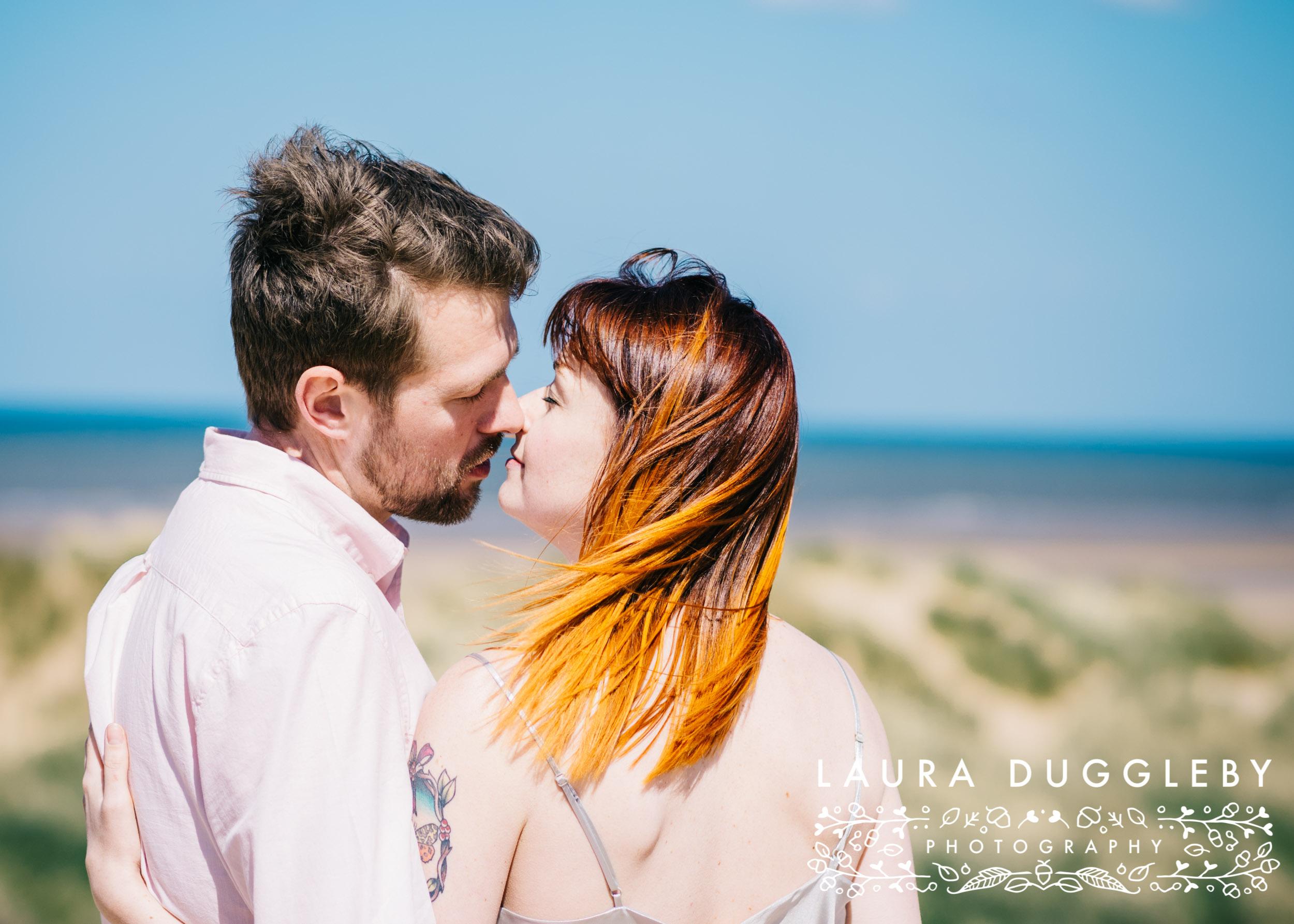 Formby Beach Lancashire Engagement Shoot-7.jpg