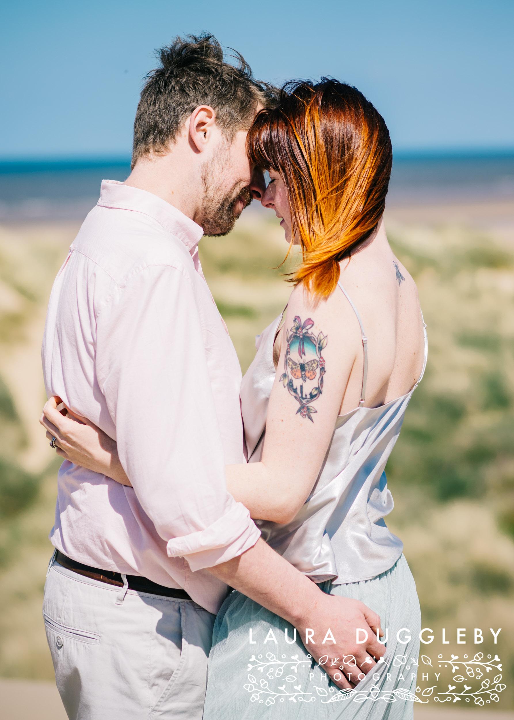 Formby Beach Lancashire Engagement Shoot-8.jpg