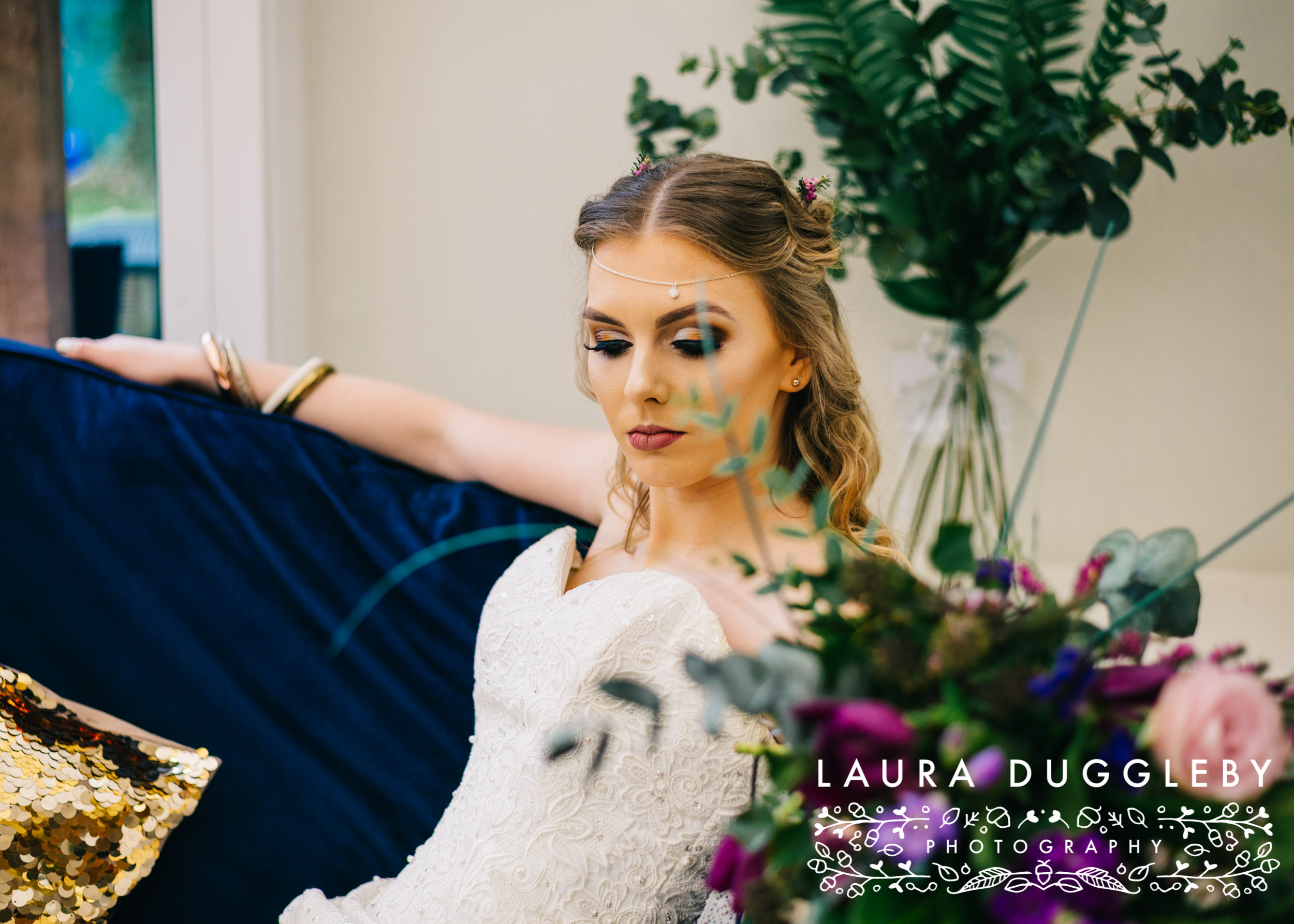 Lancashire Wedding Photographer - Sparth House Wedding Styled Boho Shoot