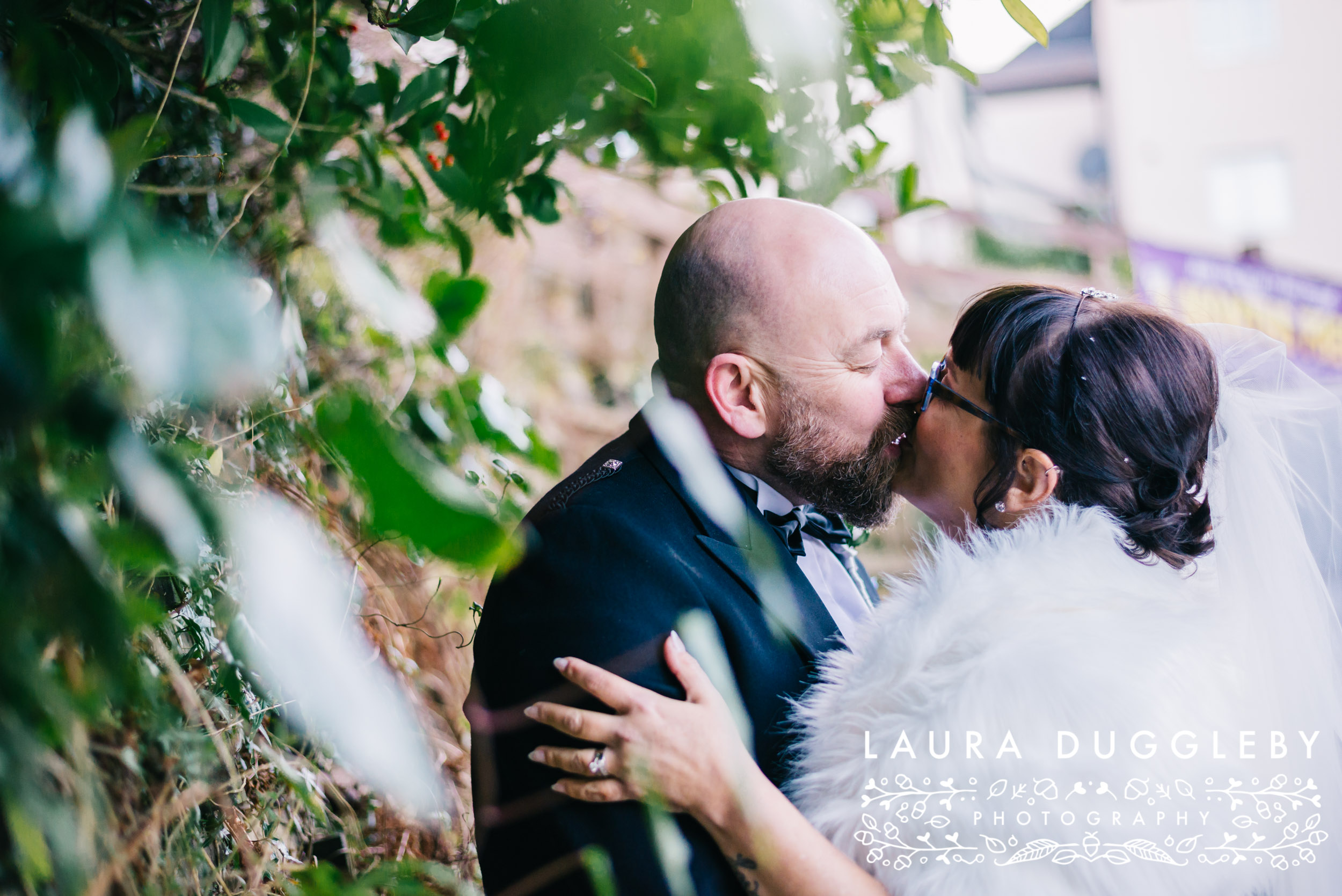 wedding portraits at the old mill hotel ramsbottom - rossendale wedding photographer