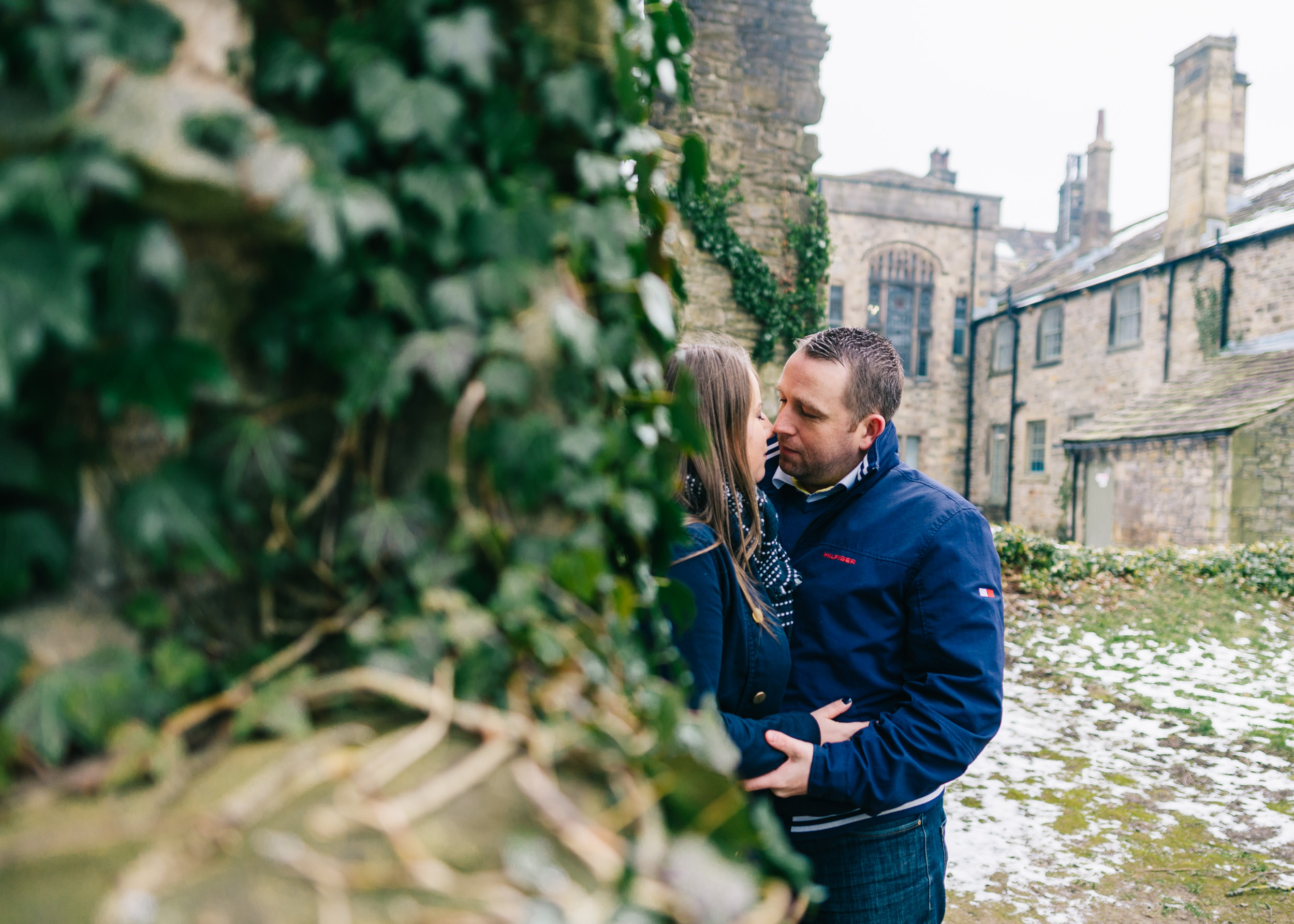 Whalley Abbey Engagement Shoot in the Ribble Valley