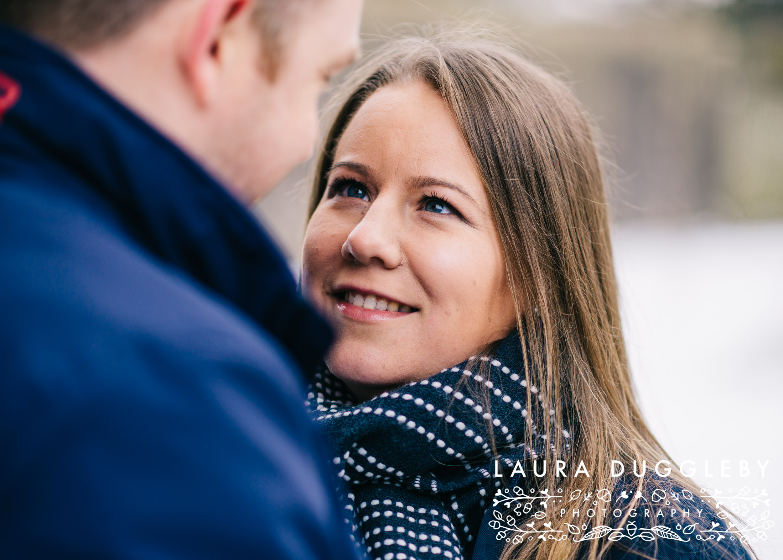 engagement shoot in ribble valley whalley abbey