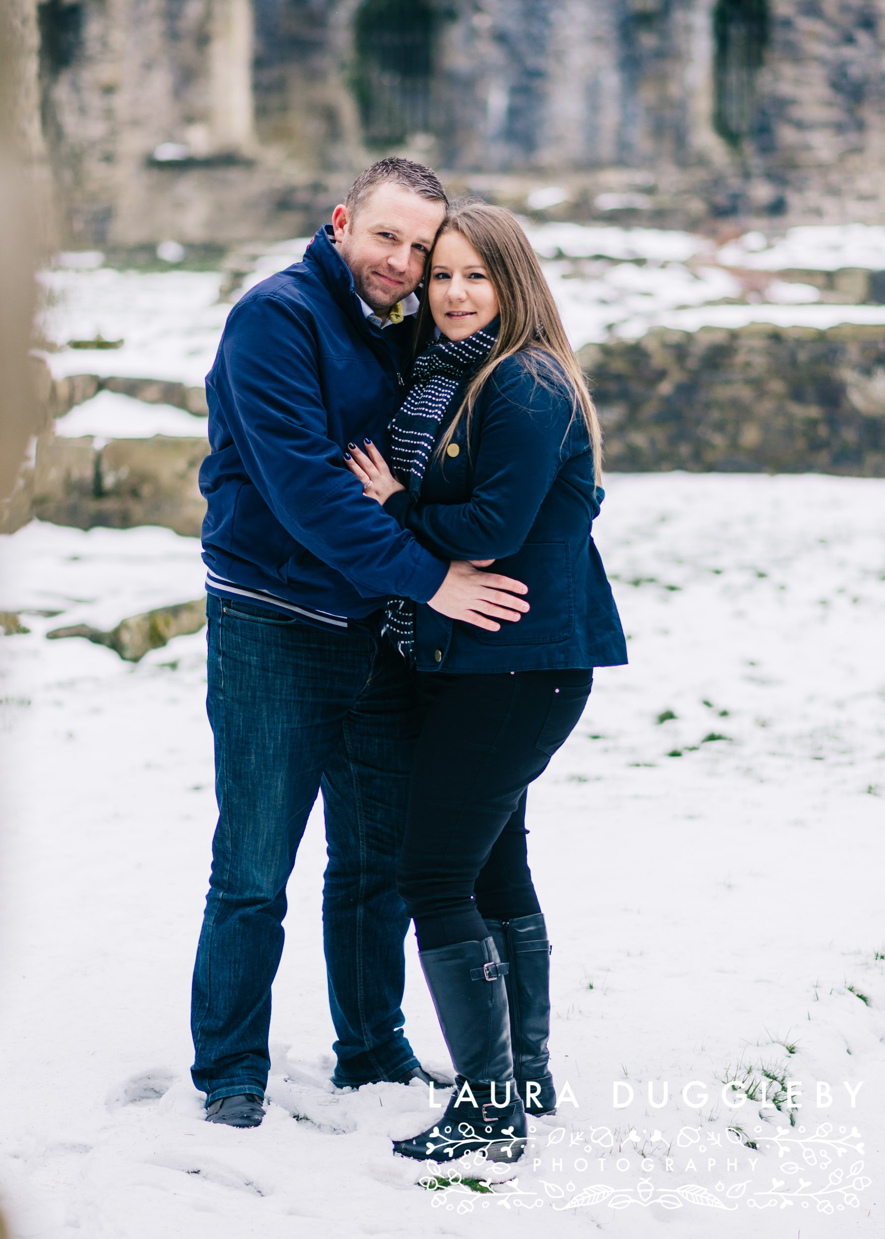 lancashire engagement shoot at whalley abbey