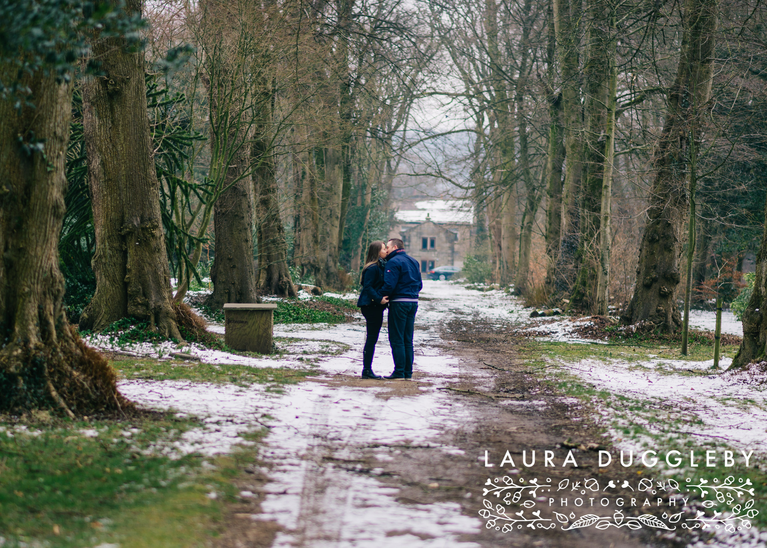 ribble valley engagement shoot at whalley abbey