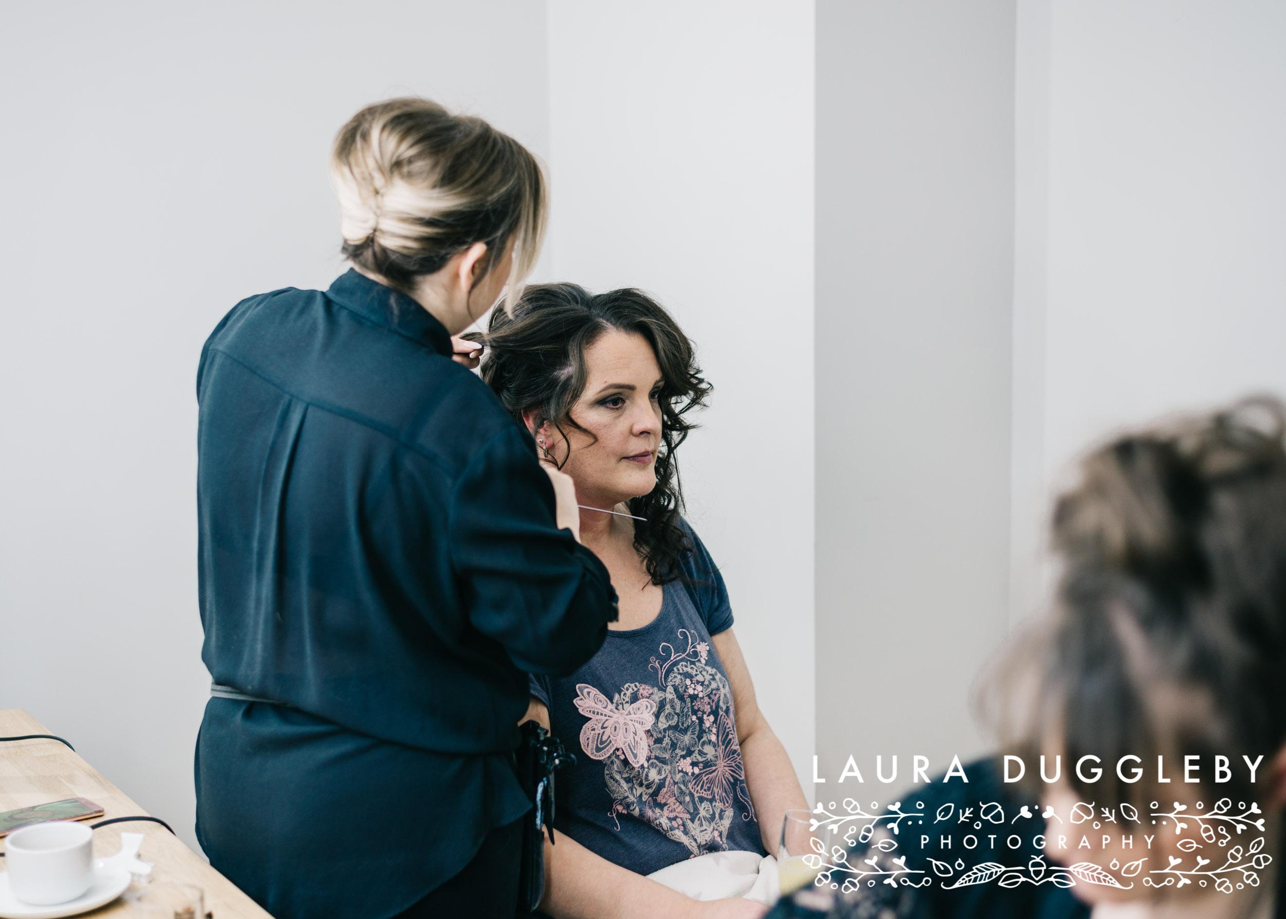 The Villa Hotel - Wrea Green Lancashire Wedding Photographer6