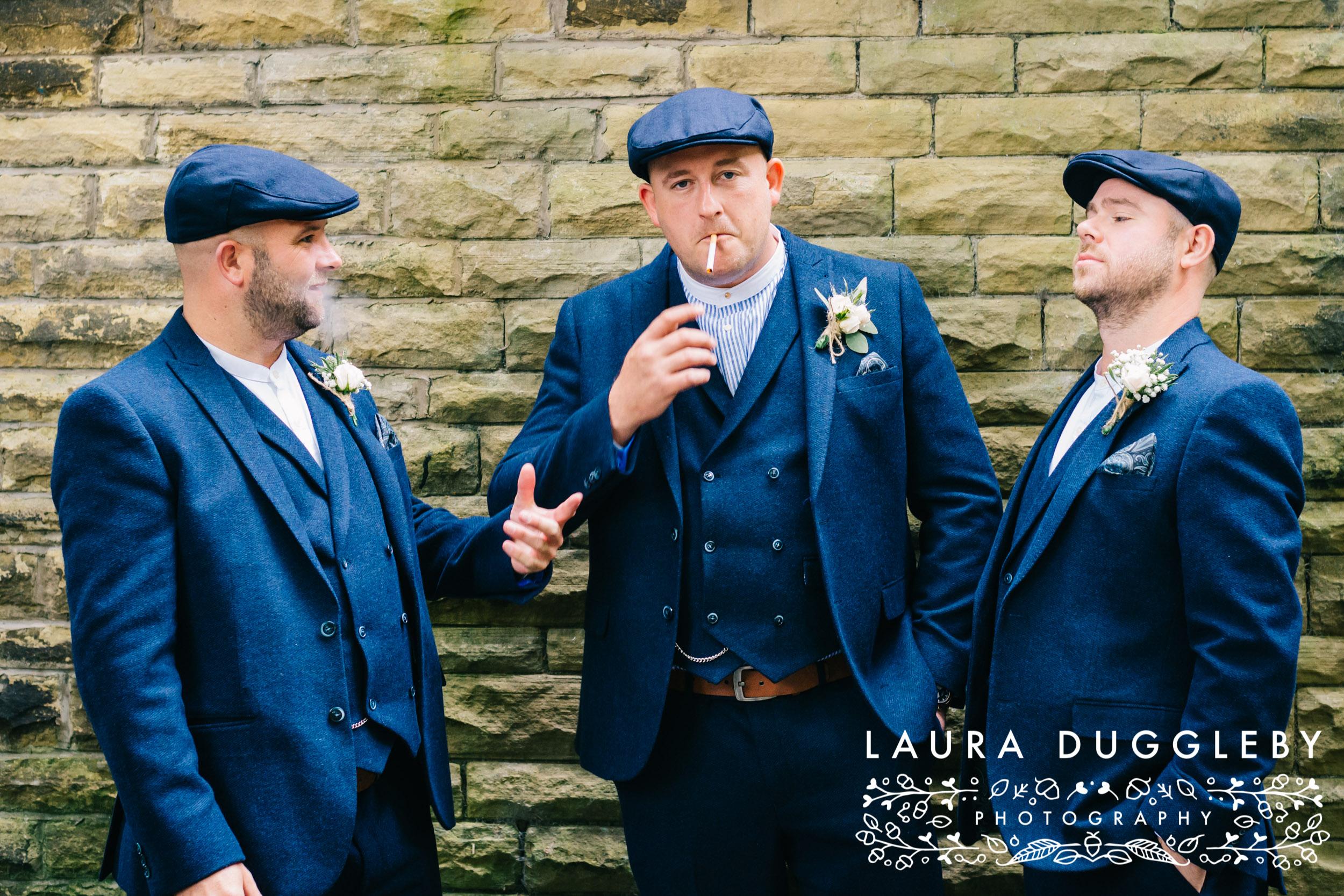 Peaky Blinders Wedding - Whitehall Hotel Darwen - Wedding Photographer8