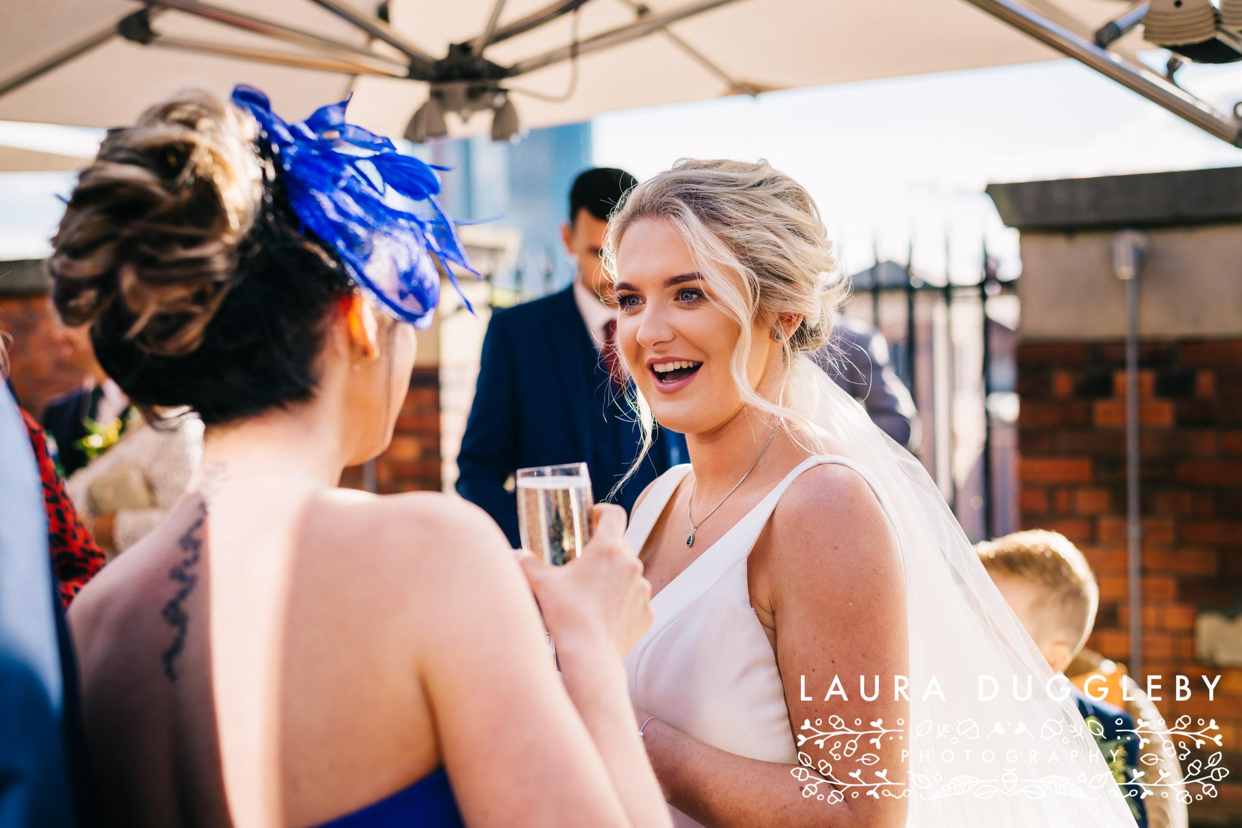 Manchester Wedding Photographer - Wedding At Great John Street Hotel2