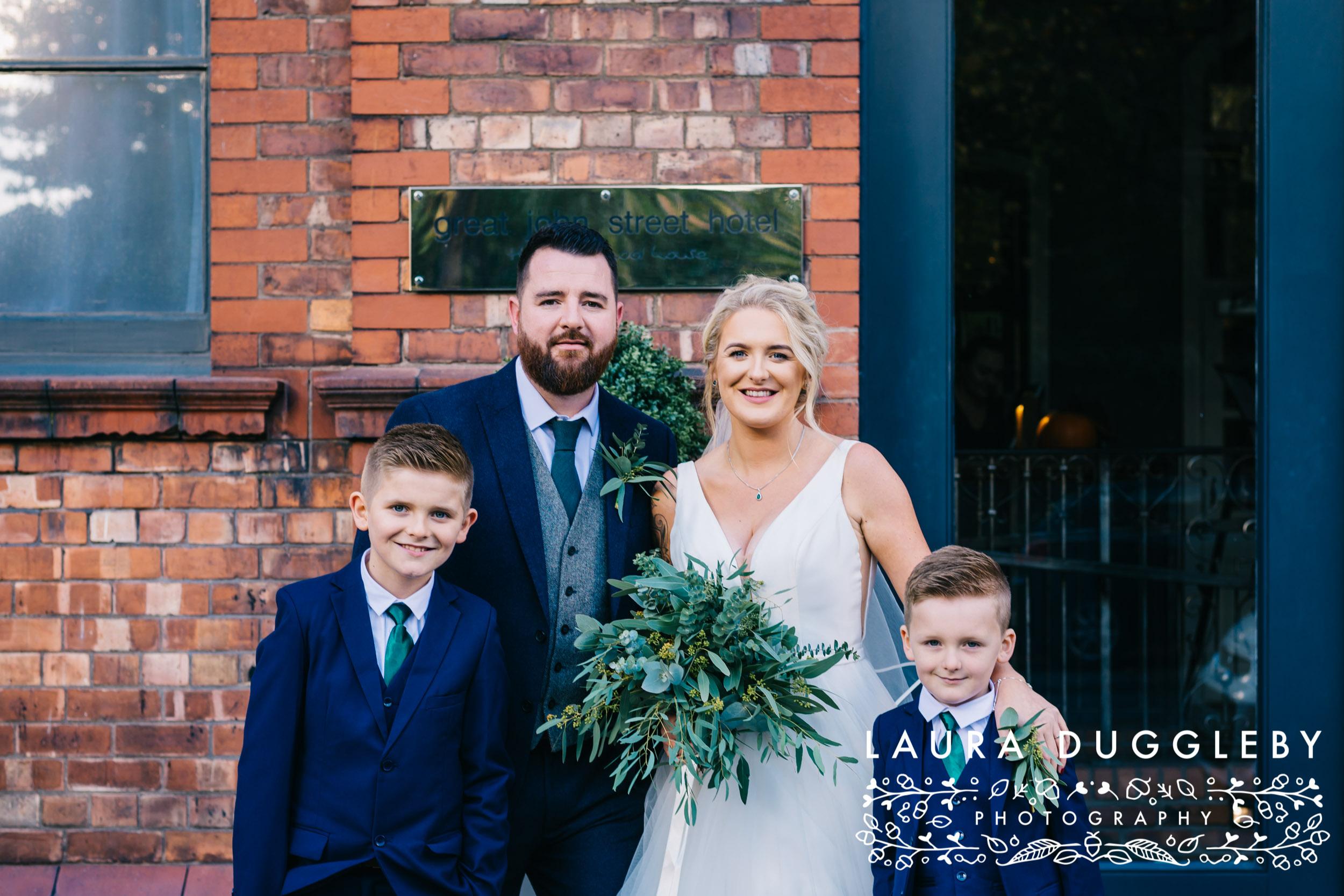 Manchester Wedding Photographer - Wedding At Great John Street Hotel