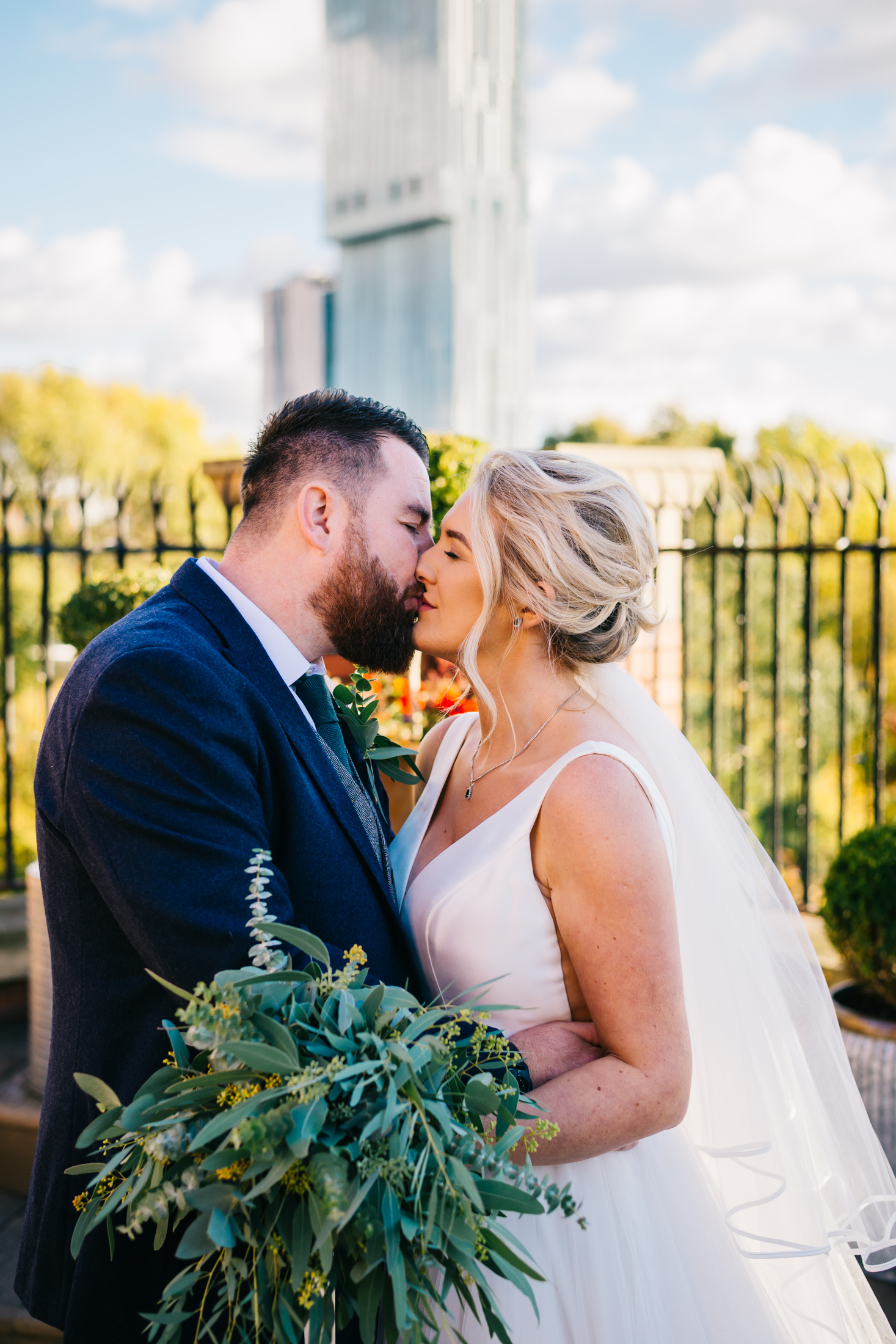 "Andrew & Charlotte - ""Absolutely over the moon with our wedding photos, Laura made us feel so at ease. We really felt like it was a friend taking our photographs.. the quality of the photos are beautiful and very natural.. we highly recommend laura if your looking for some natural and quirky photos.."""