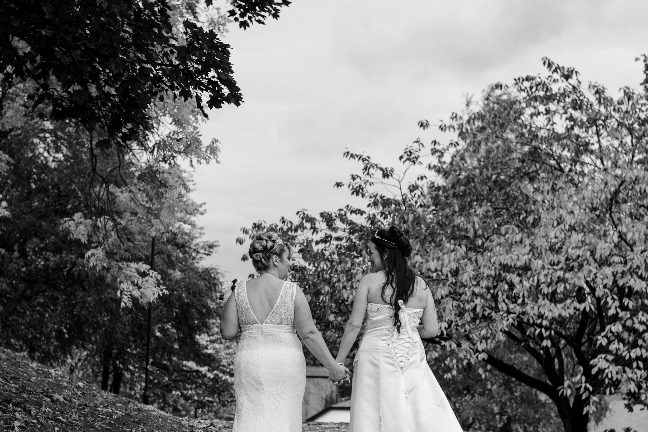 "Donna & Dianne - ""Brilliant pictures could not be happier.... Laura it was an absolute pleasure to meet you, you are a lovely person and made our day care free. Thankyou for everything you did for us and capturing our day in the most perfect way. Thankyou. Mrs & Mrs Shaw xxx """