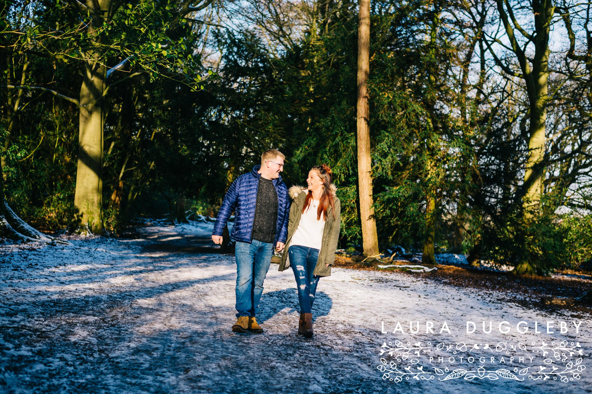 Engagement Shoot Towneley Park