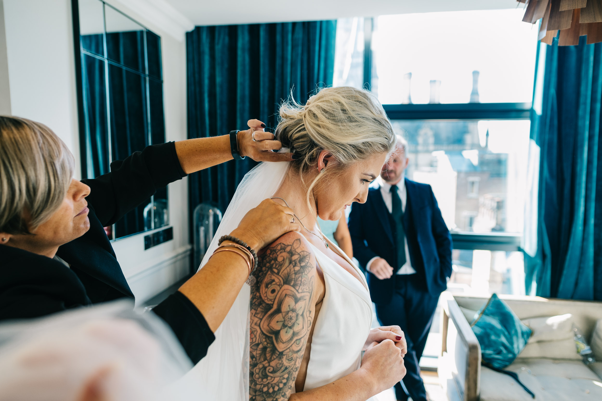 king street hotel manchester wedding photographer