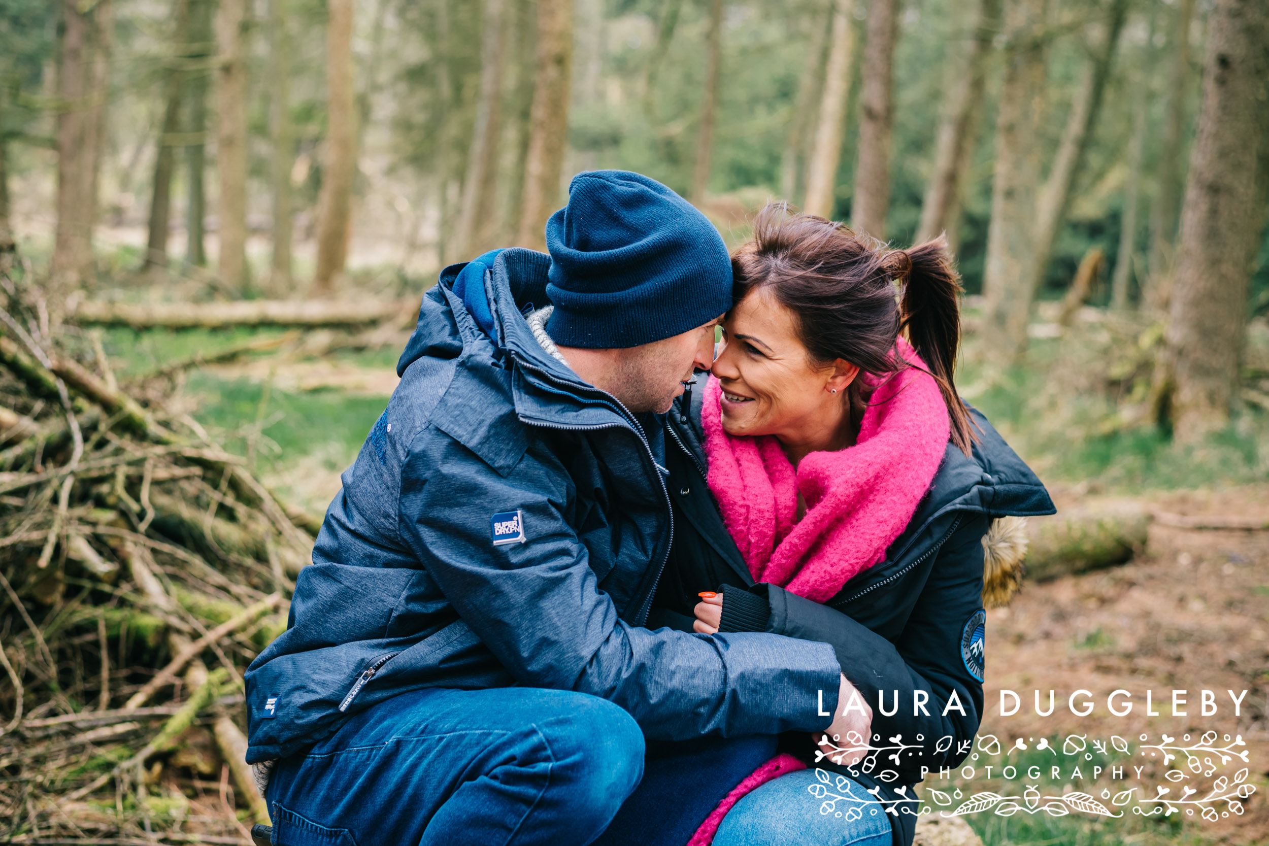 Rossendale Wedding Photographer - engagement shoot at Calf Hey Reservoir
