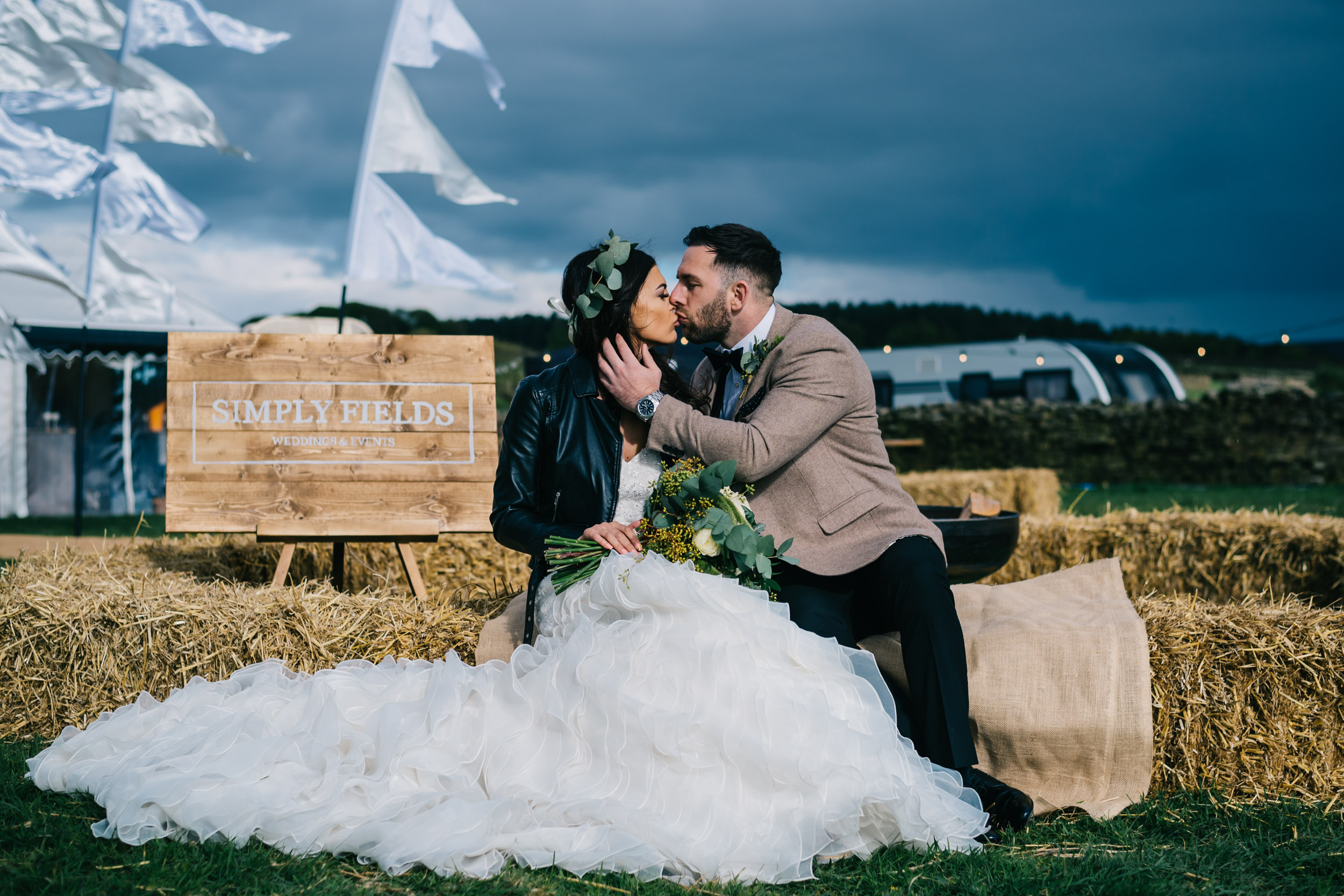 simply fields burnley wedding photographer