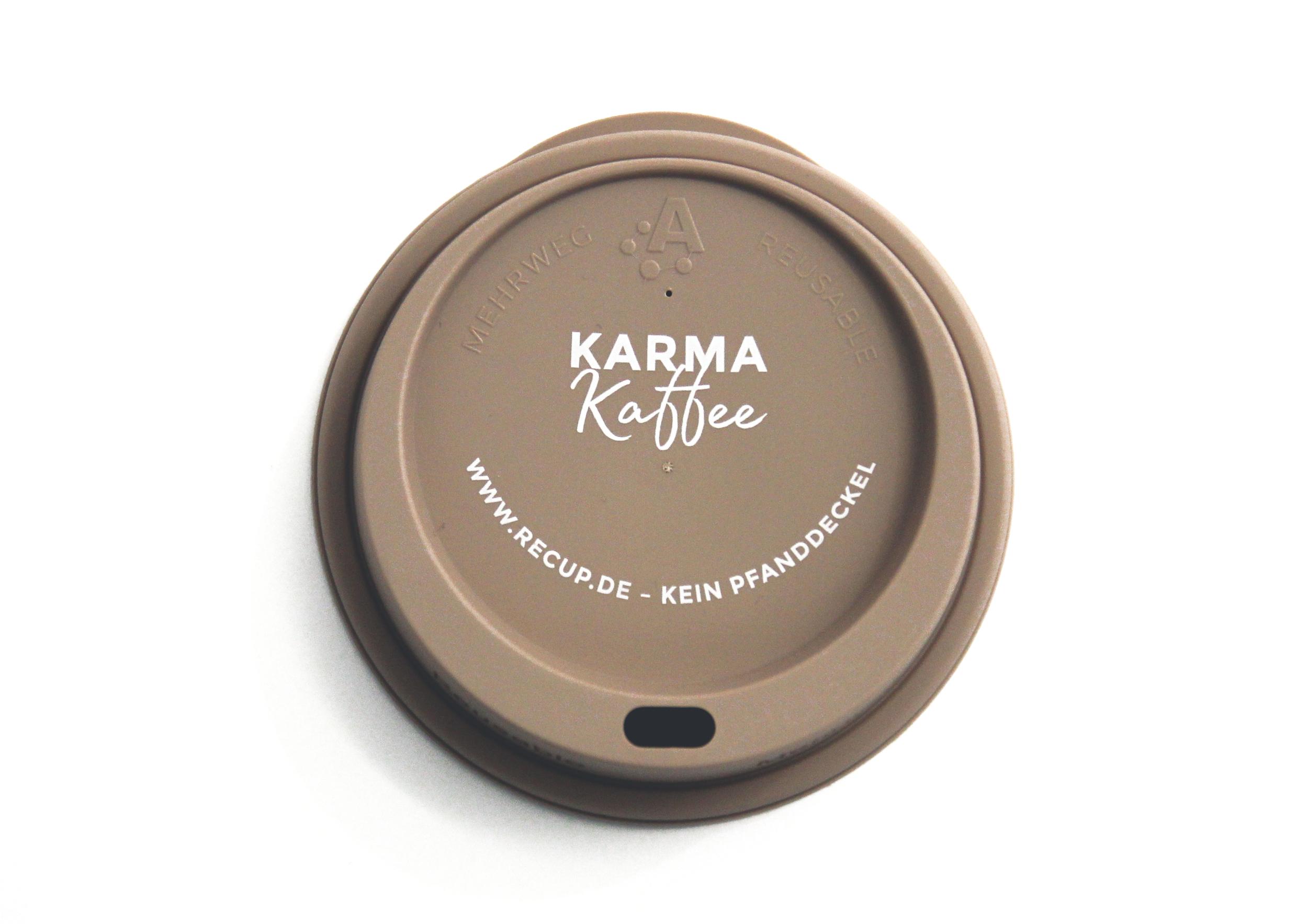 """Karma Kaffee"" Cappuccino"
