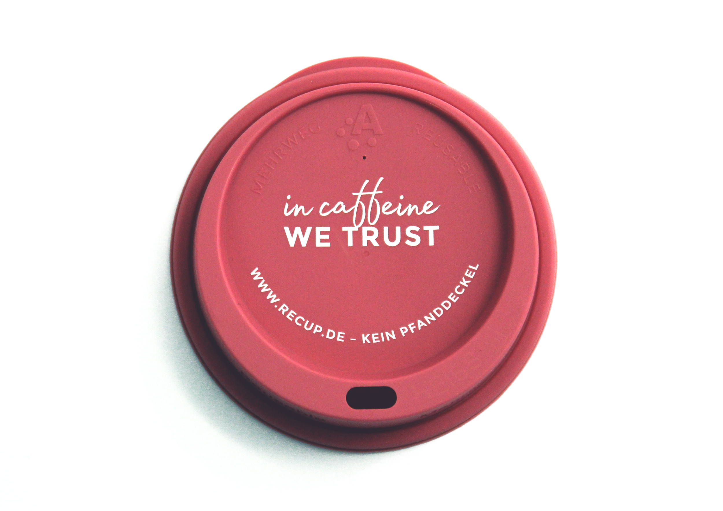 """In caffeine we trust"" Beere"