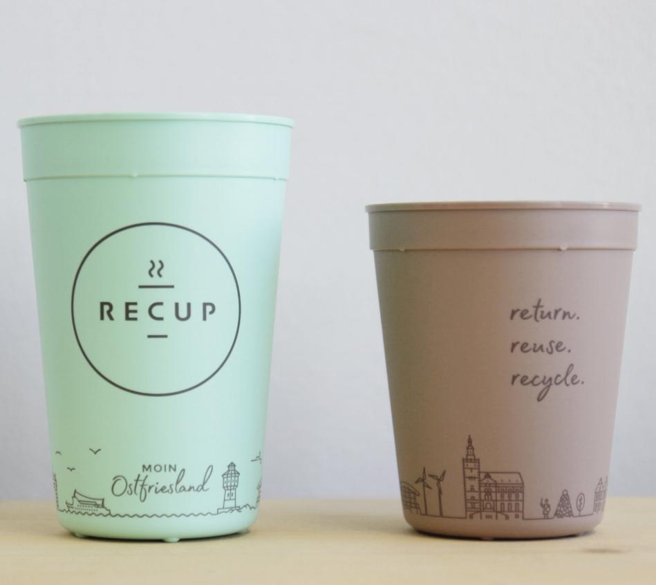OSTFRIESLAND-RECUP  MOIN Ostfriesland! Ein weiterer Becher für den Norden unsers Pfandsystems. Schön, dass nun auch Ostfriesland Kaffee im RECUP trinkt!