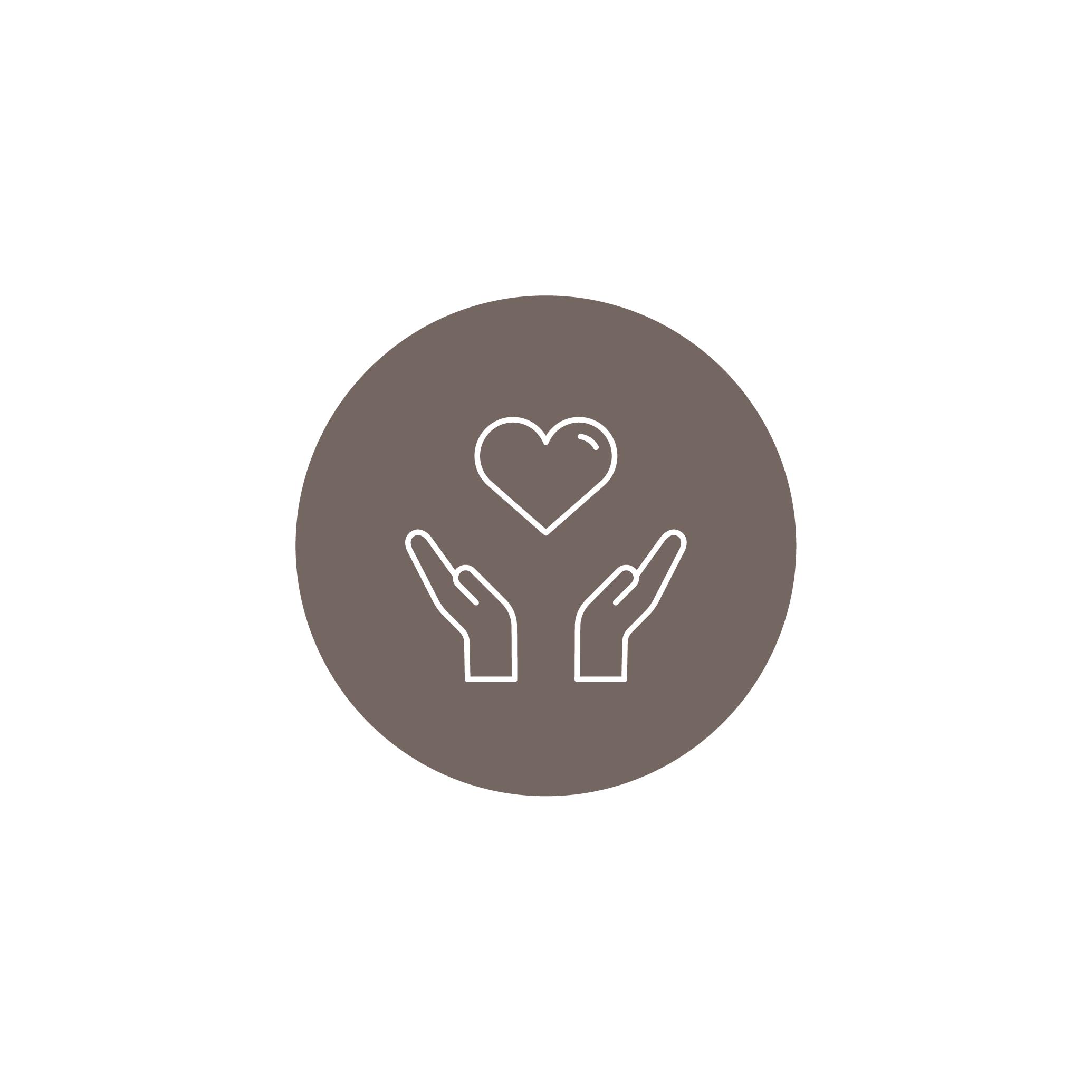 Herzblut  Wir brennen für die #coffeetogorevolution: Mit Leidenschaft, Begeisterung und Energie treiben wir Nachhaltigkeit vorwärts.