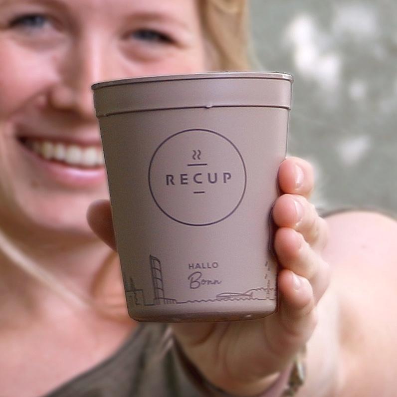 BONN-RECUP  HALLO Bonn! Schön, dass nun auch Bonn als Becher im RECUP-Pfandsystem dabei ist und die #coffeetogorevolution vorantreibt.