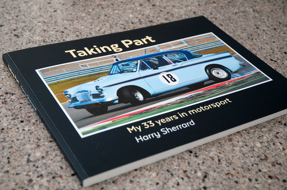 "Front cover of ""Taking Part"", book by Harry Sherrard."
