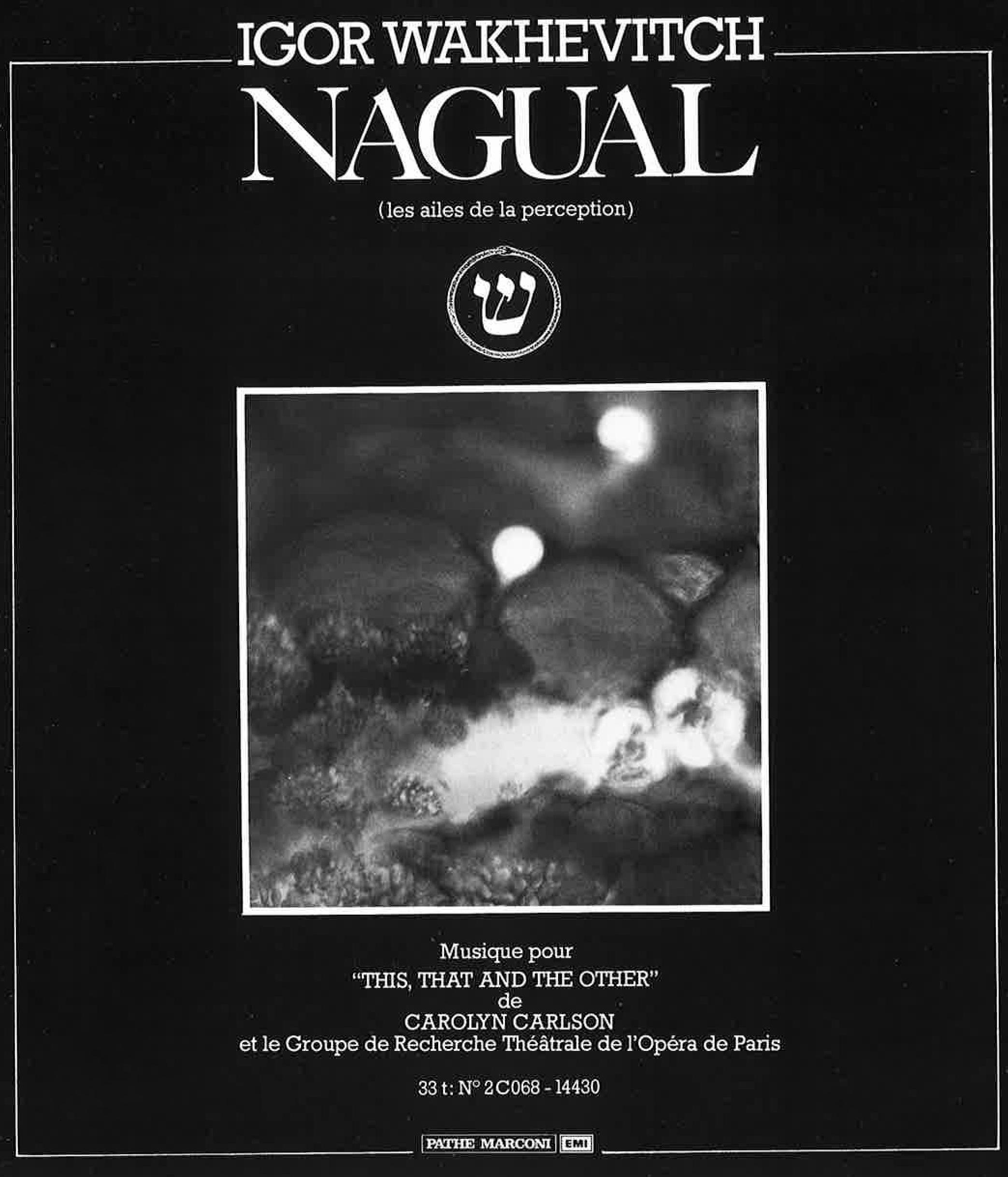 OPERA DE PARIS  PROGRAMME  ENCART NAGUAL ALBUM EMI .jpg