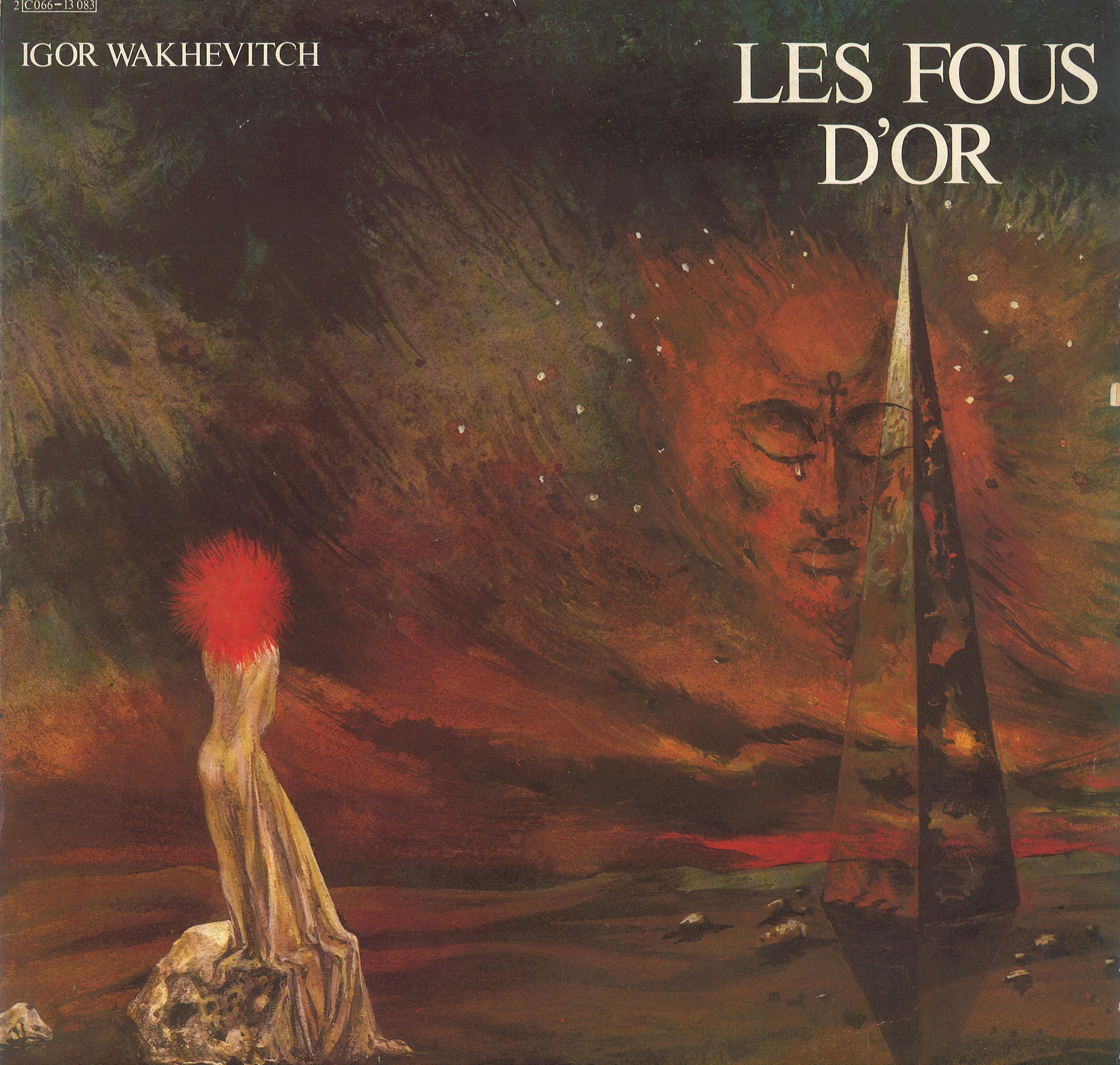 """LES FOUS D'OR"" - The Golden Fools (EMI) cover by Georges Wakhevitch"