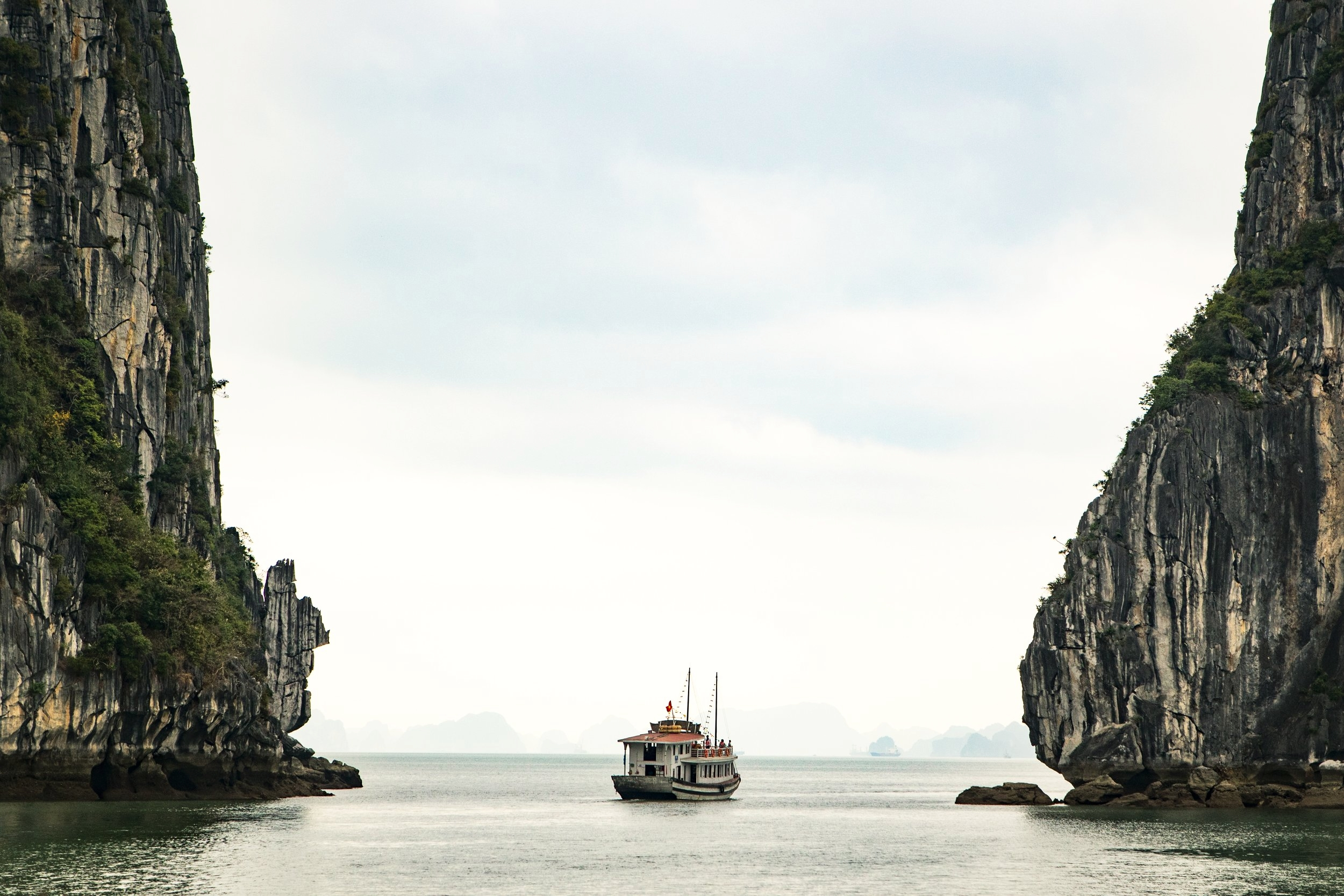 Ha Long Bay in Ha Noi, Vietnam