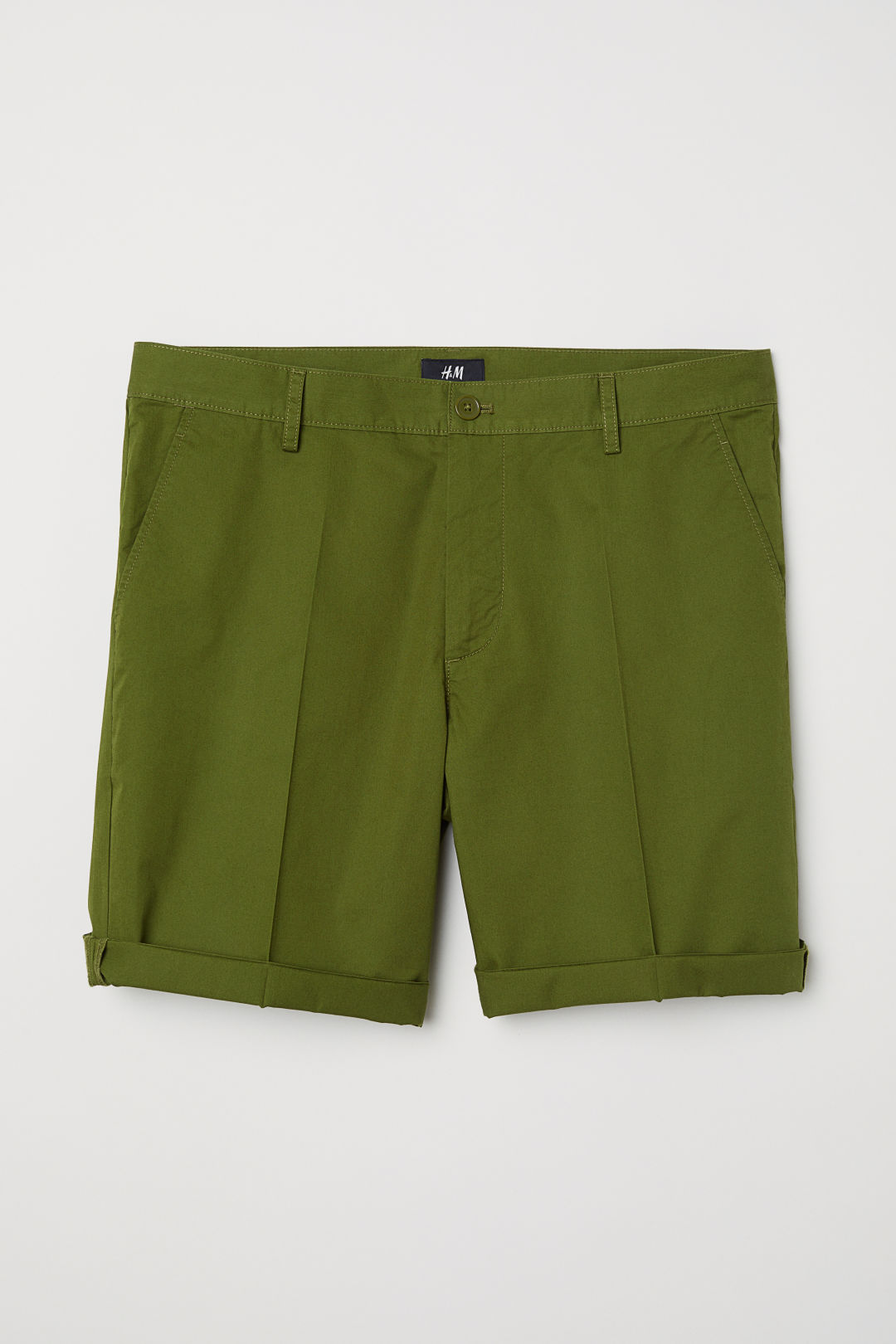 HM Green Chino Shorts.jpeg