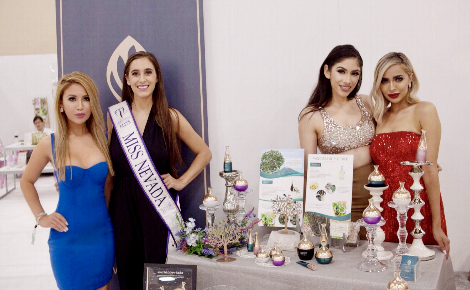 Pictured here with  PILI ANI , a luxurious skin care brand,  Y  von Nguyen ,  Jody Marie ,  Annakaren Alderete  and  Nida Maqsood . Photo courtesy of  Ray Pinili .