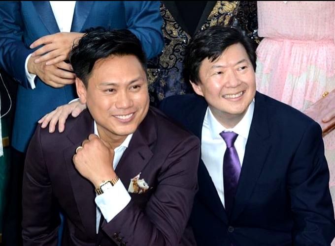 Jon M. Chu and Ken Jeong.  @KenJeong