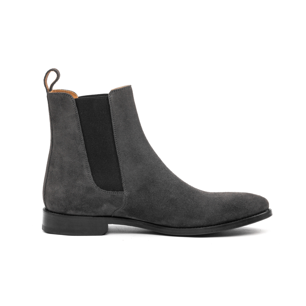 Oro Los Angele Grey Chelse Boot.png