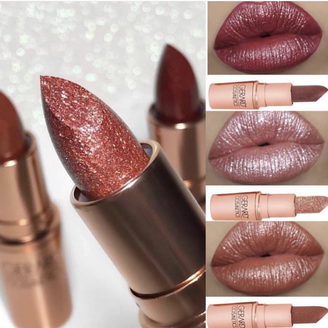 30% Off - Metallic lipsticks, matte liquid lipstick, and haute highlighters! Use promo code YVON LUX and enjoy 30% OFF of everything!