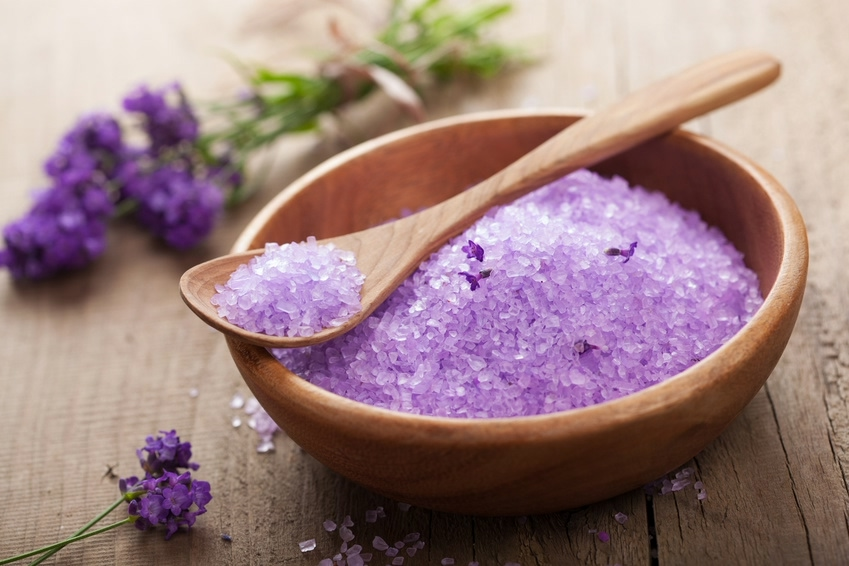 Make the ultimate pain-soothing remedy by combining the following recipe together before adding to your bath: - - 1 cup of Epsom salts- 8-10 drops of lavender essential oil- Half a tablespoon of jojoba or coconut oil (optional)