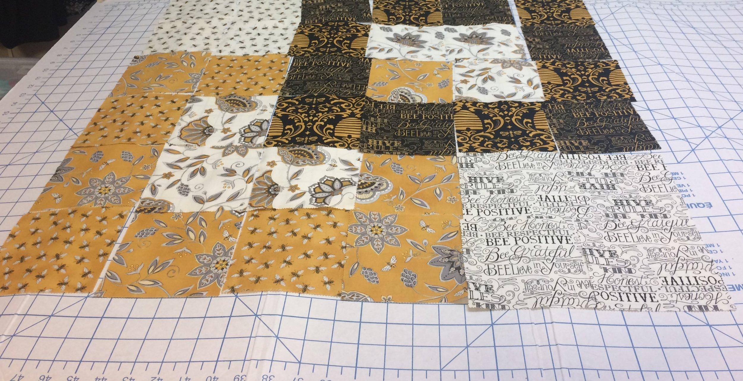 """BEE CREATIVE"" collection designed by Deb Strain for Moda Fabrics."