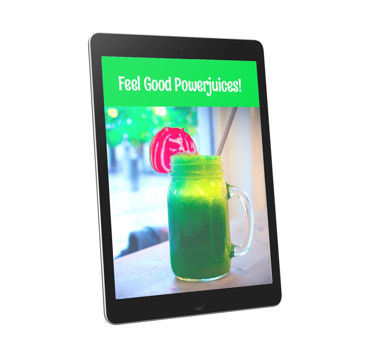 Bonus e-book Powerjuices! T.w.v. 12,95, nu gratis bij je bestelling!