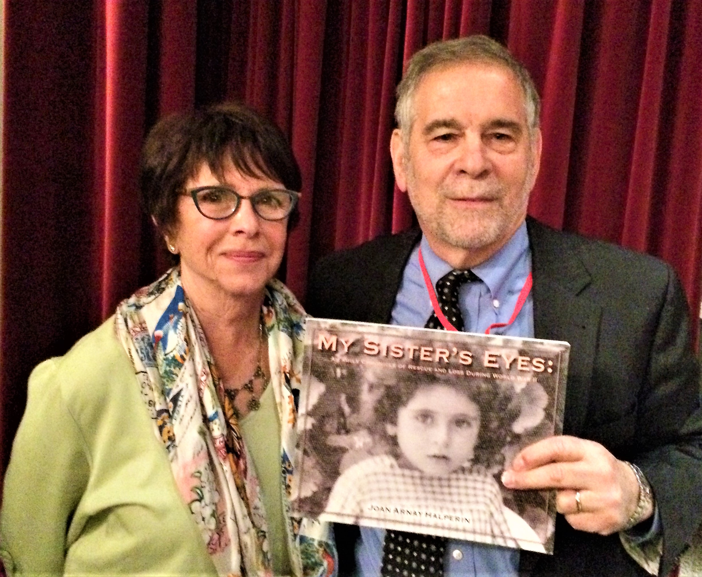 """Dr. Michael Berenbaum  is on the Sousa Mendes Advisory Council and was the first scholar to bless   My Sister's Eyes   with these kind words: """"My Sister's Eyes is a charming work written with precision and passion. It tells the story of the Krakowiak family from their prosperous life in Poland and Belgium through the Nazi onslaught and their perilous flight to freedom. The story unfolds so graciously that one does not quite realize its power as we experience the world before in its elegance, the descent into hell, the struggle to find a way out of Europe, the moral heroism of the Portuguese Consul in Bordeaux and then their escape from the inferno and their journey to a new world and a new life. And just as they are about to reach safety, they experience a tragedy – and later freedom and stability, birth and rebirth. The brevity of the work intensifies the depth of the journey, the words that are written and what cannot be written."""" —Michael Berenbaum, Director, Sigi Ziering Institute, Professor of Jewish Studies, American Jewish University"""