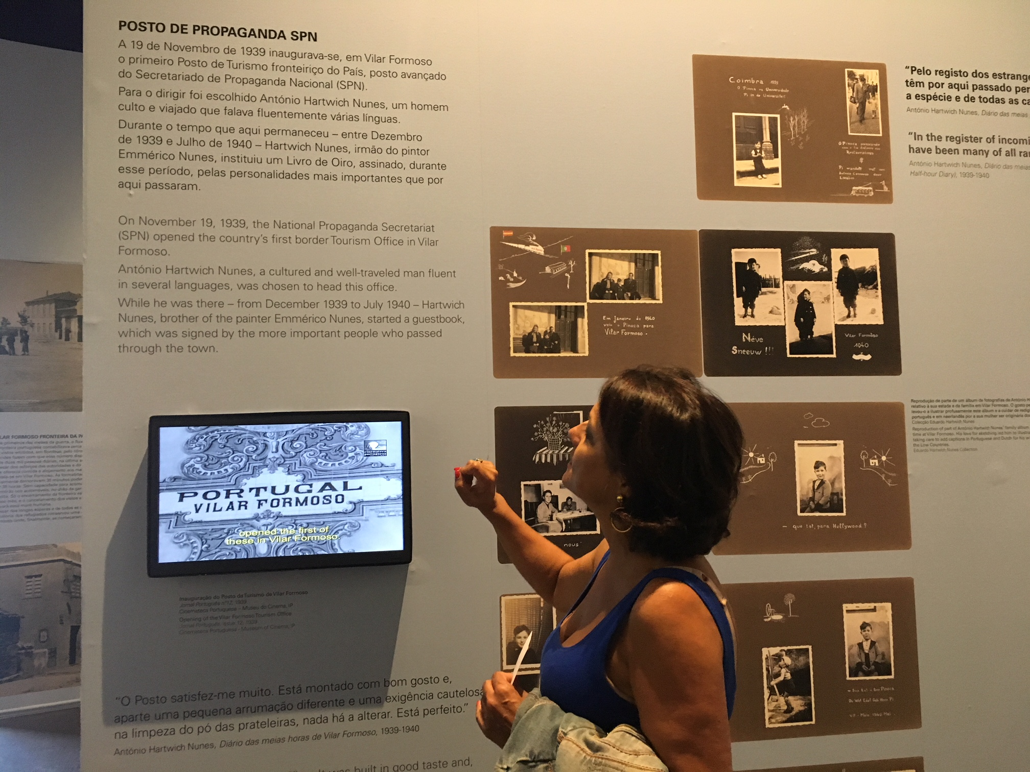 Frontiere da Paz   (Frontier of Peace) Museum at Vilar Formoso, #Portugal  Architecture and museography:   Luísa Pacheco Marques (pictured above) with Milena Raposo and João Gomes  Commissioner and Research:  Margarida de Magalhães Ramalho
