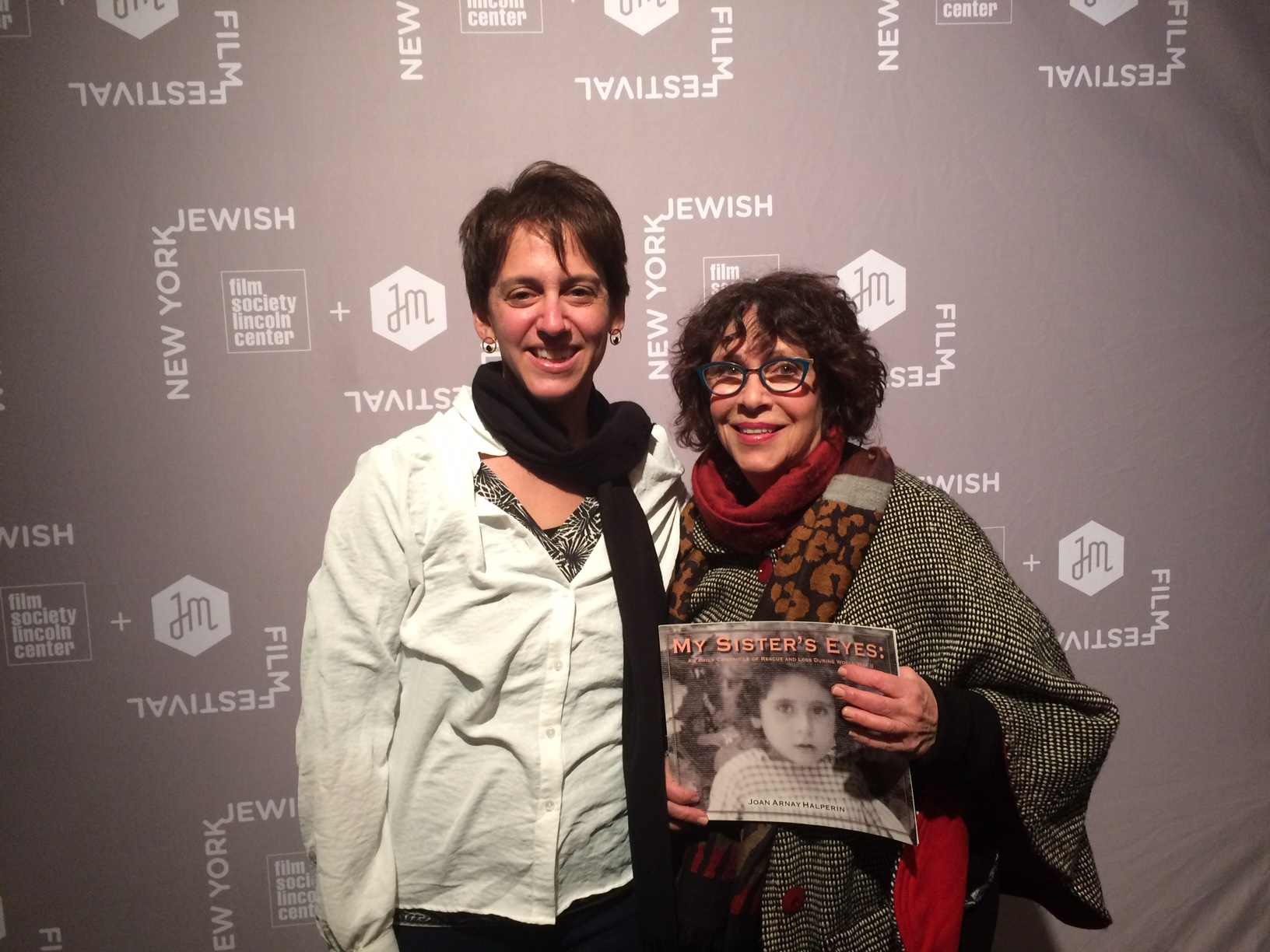 Elizabeth Rynecki and Joan Arnay Halperin, January 16, 2019