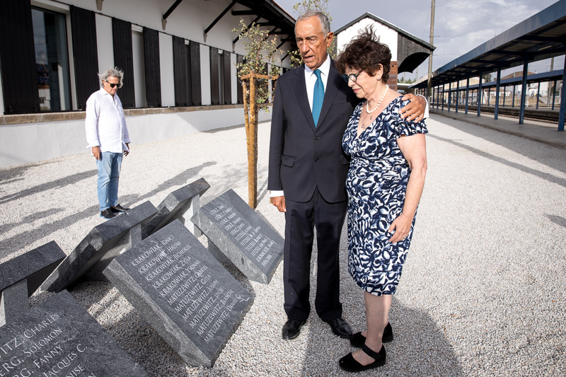 """Sympathy for Sousa Mendes visa recipients who are remembered at the Vilar Formoso """"Fronteira da Paz"""" Museum."""