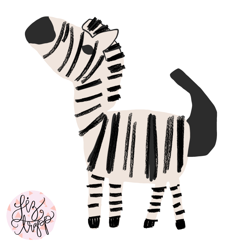 Zebra love - the story of the first print in the South Africa inspired collection