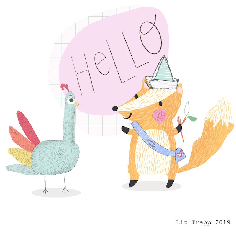 turkey & fox hello.PNG